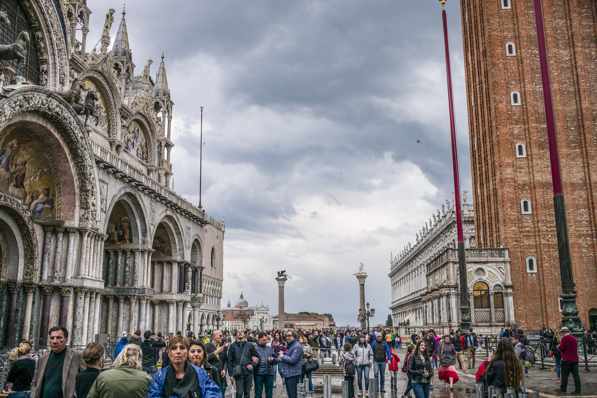 Crowds of San Marco