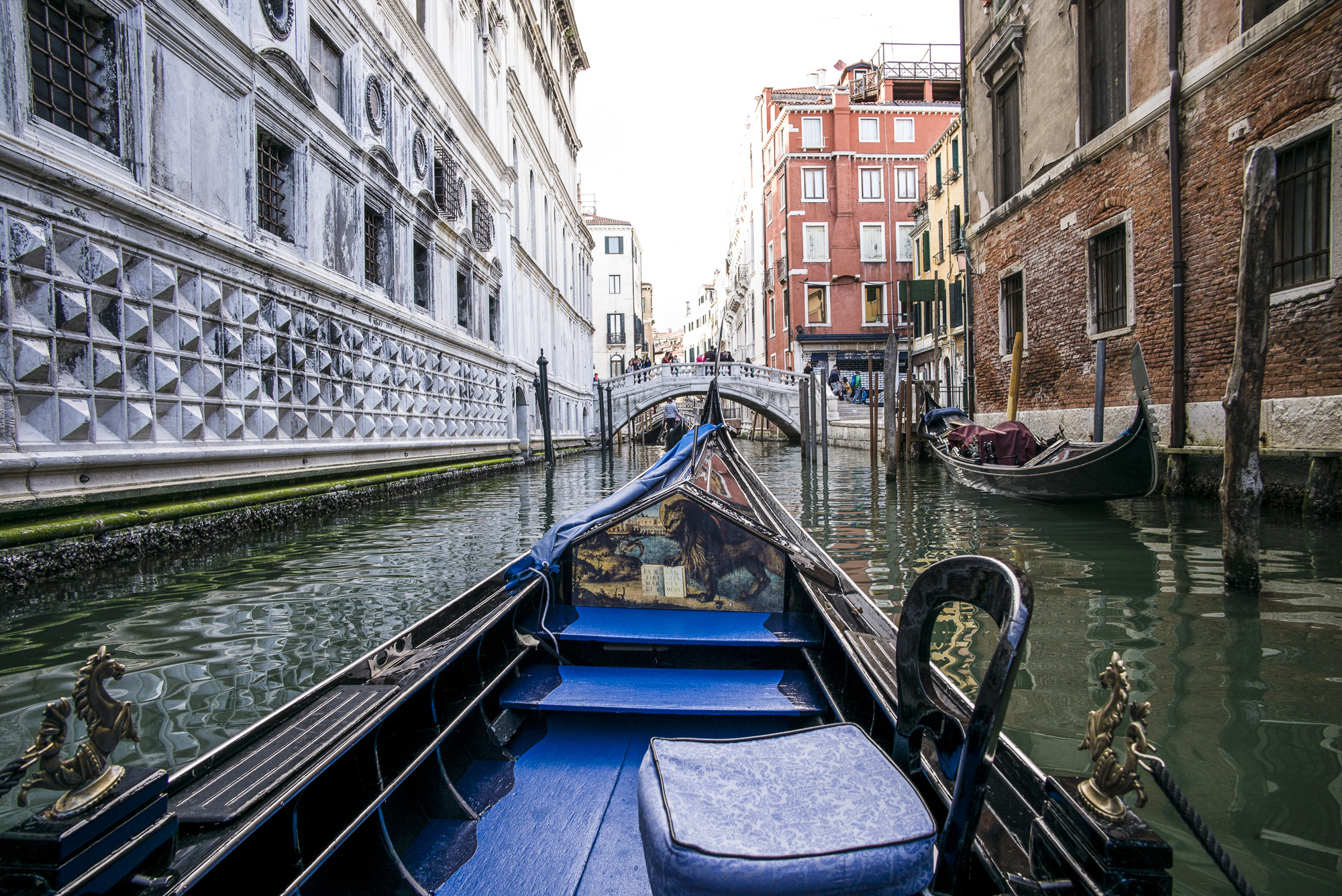 Seeing Venice from a Gondola