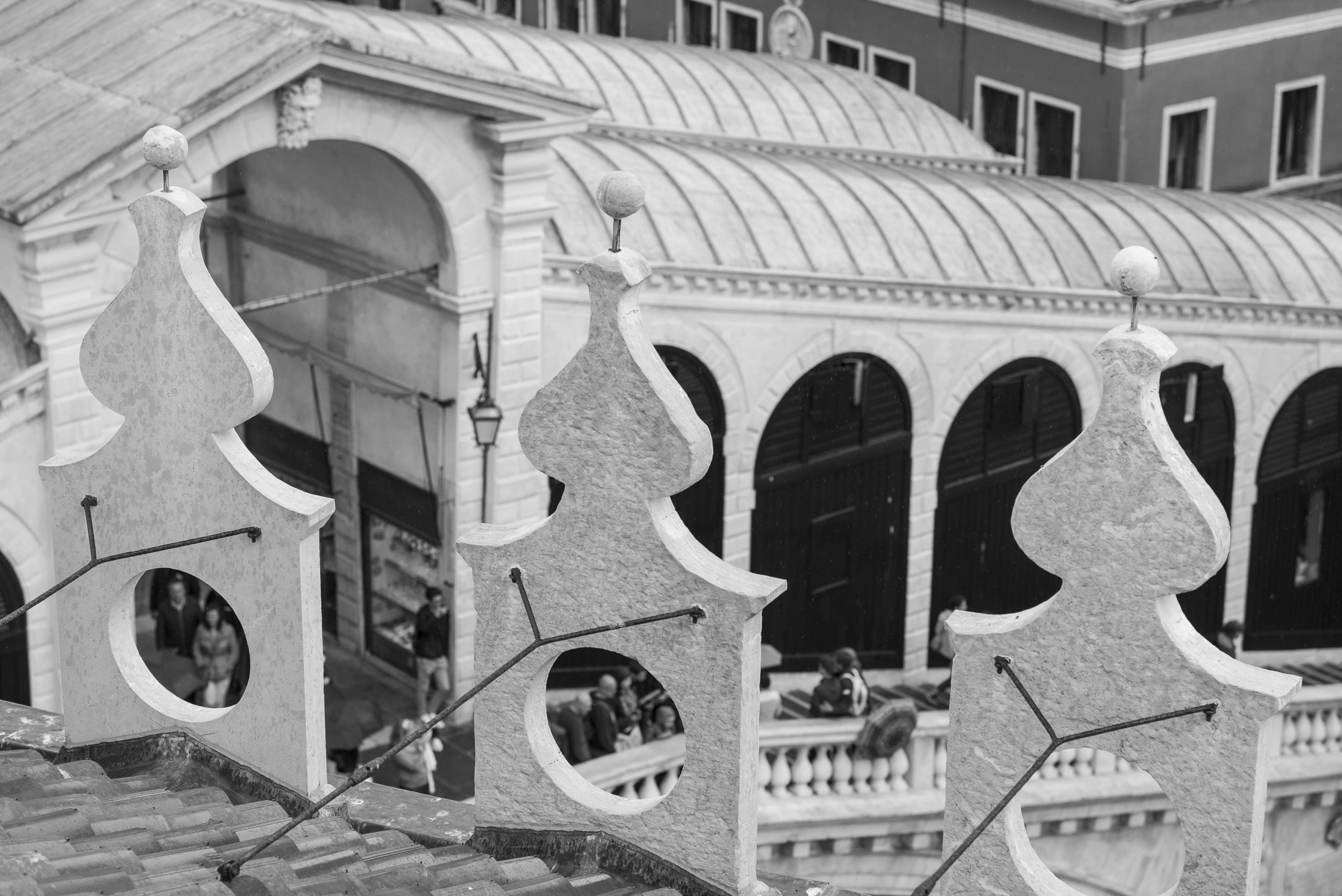 Rialto Bridge from the rooftop