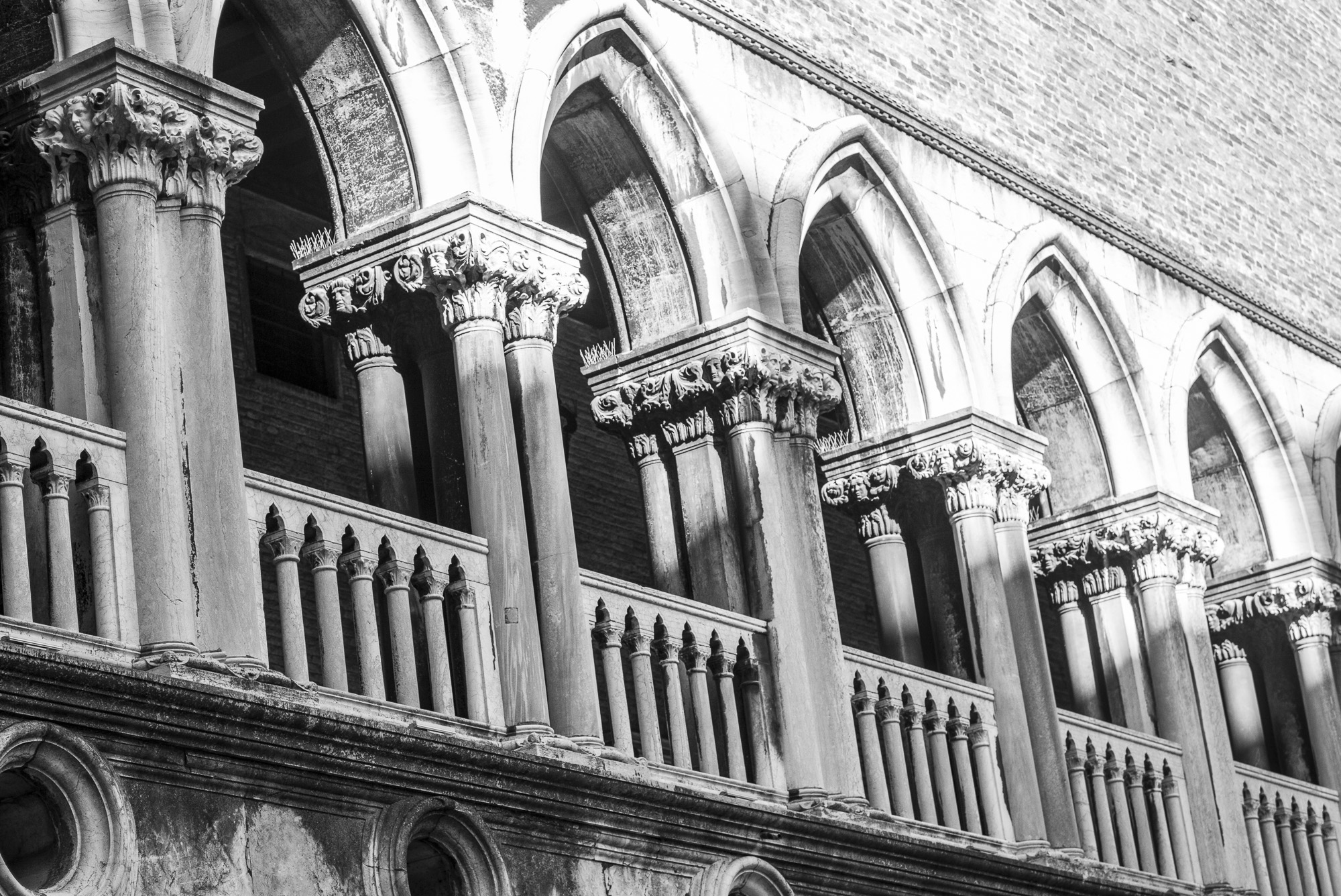Arches at Doge's Palace