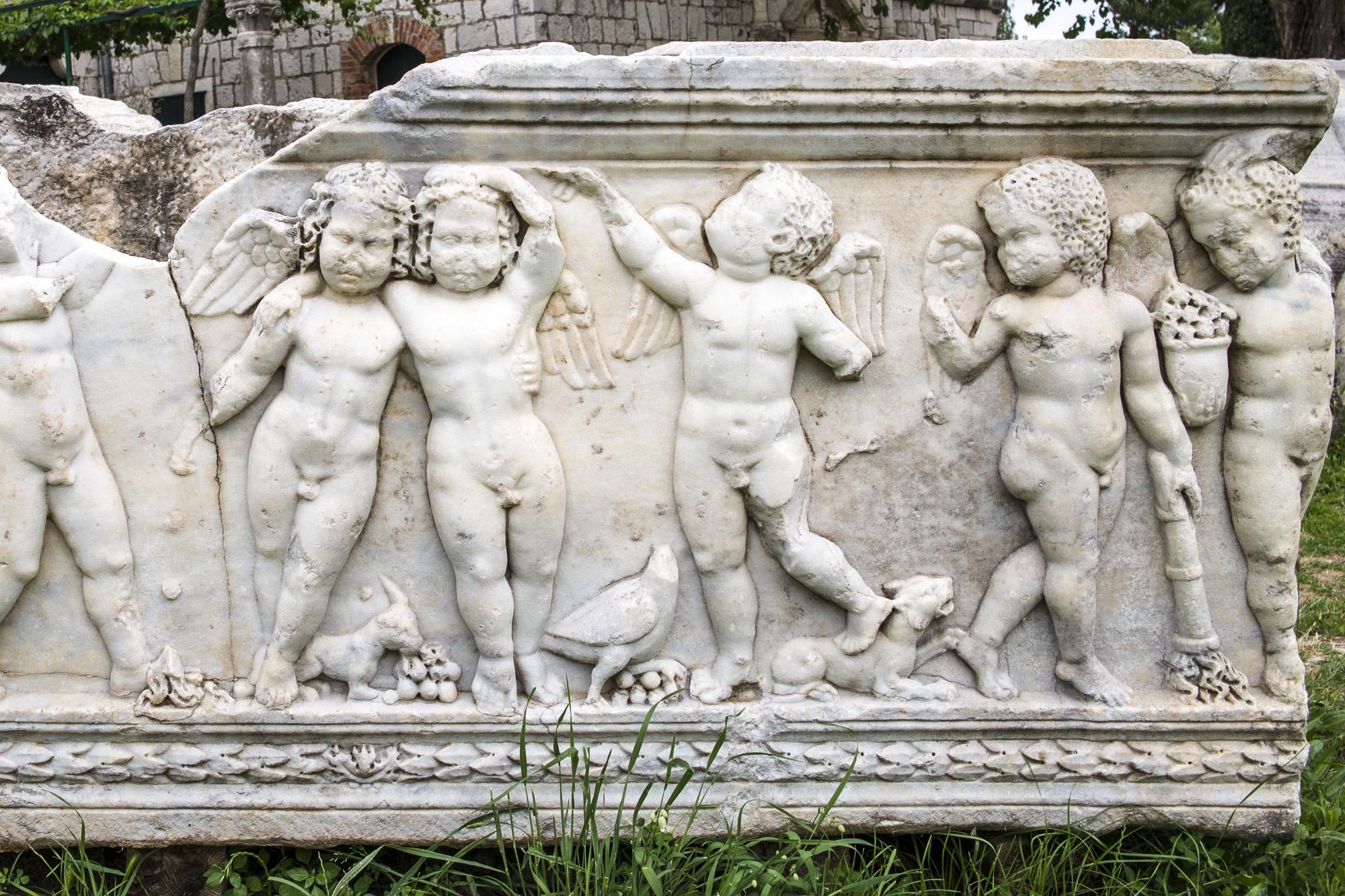 Sarcophagus in Salona