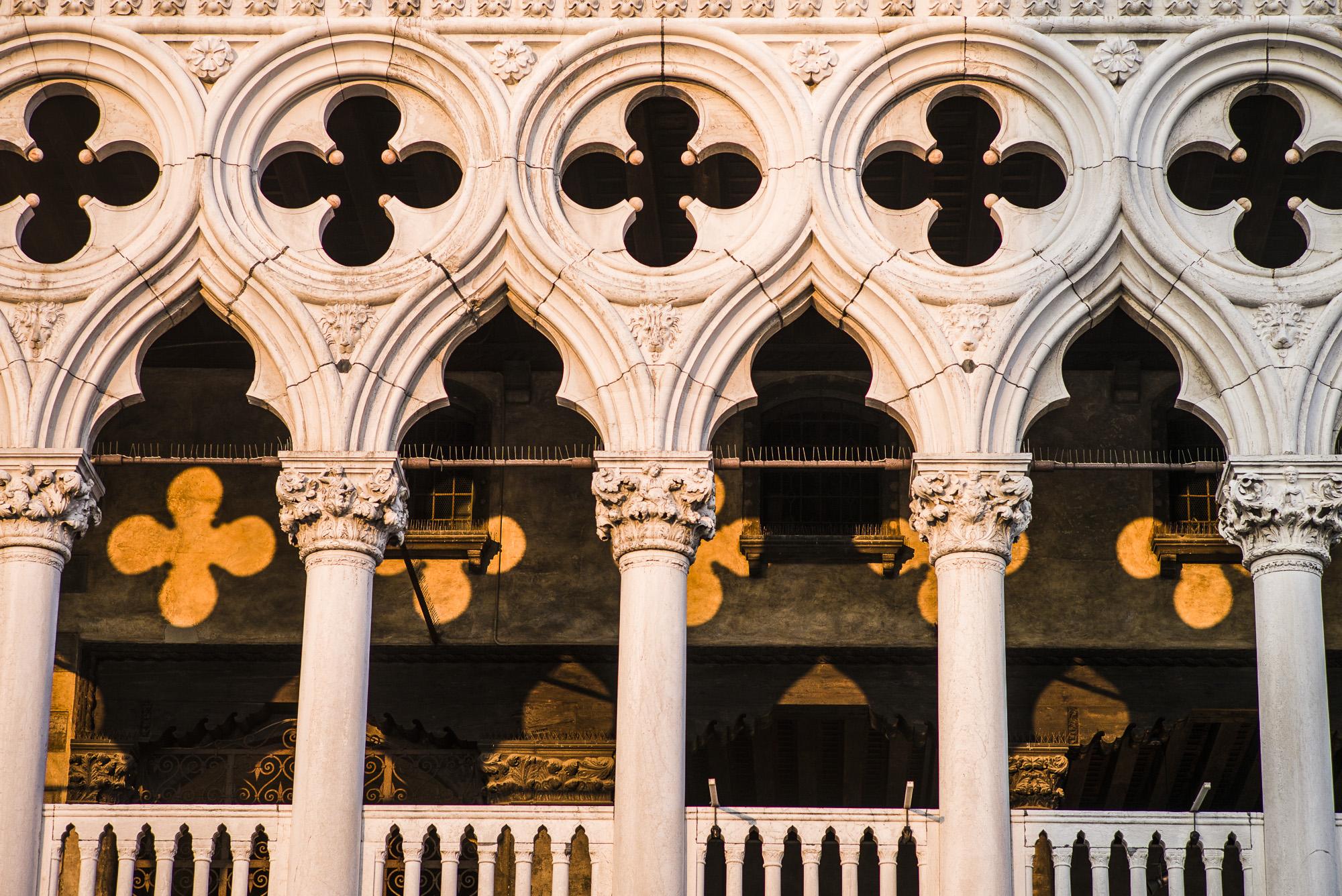 Sunset light on the Doge's Palace