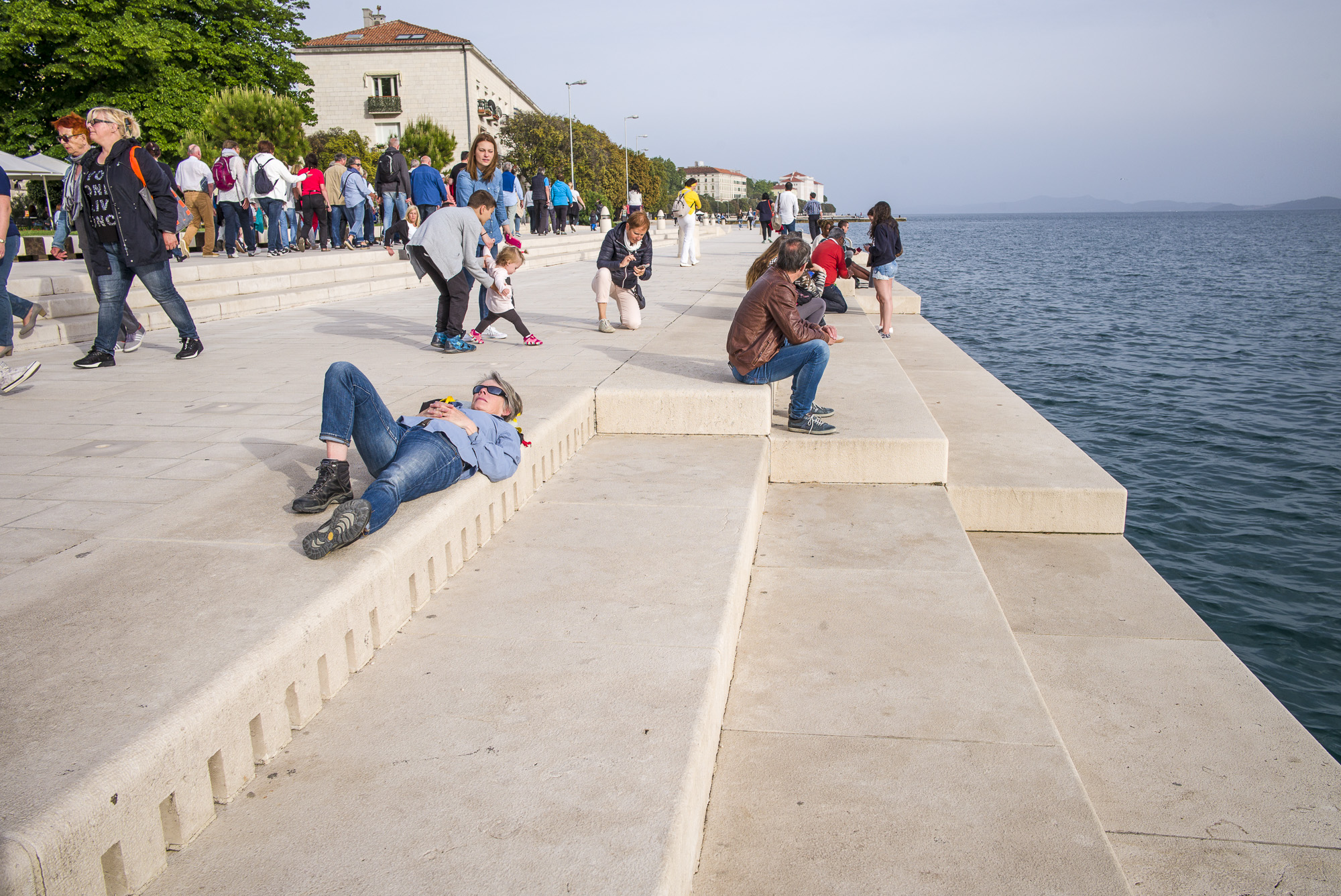 Resting on the Sea Organ