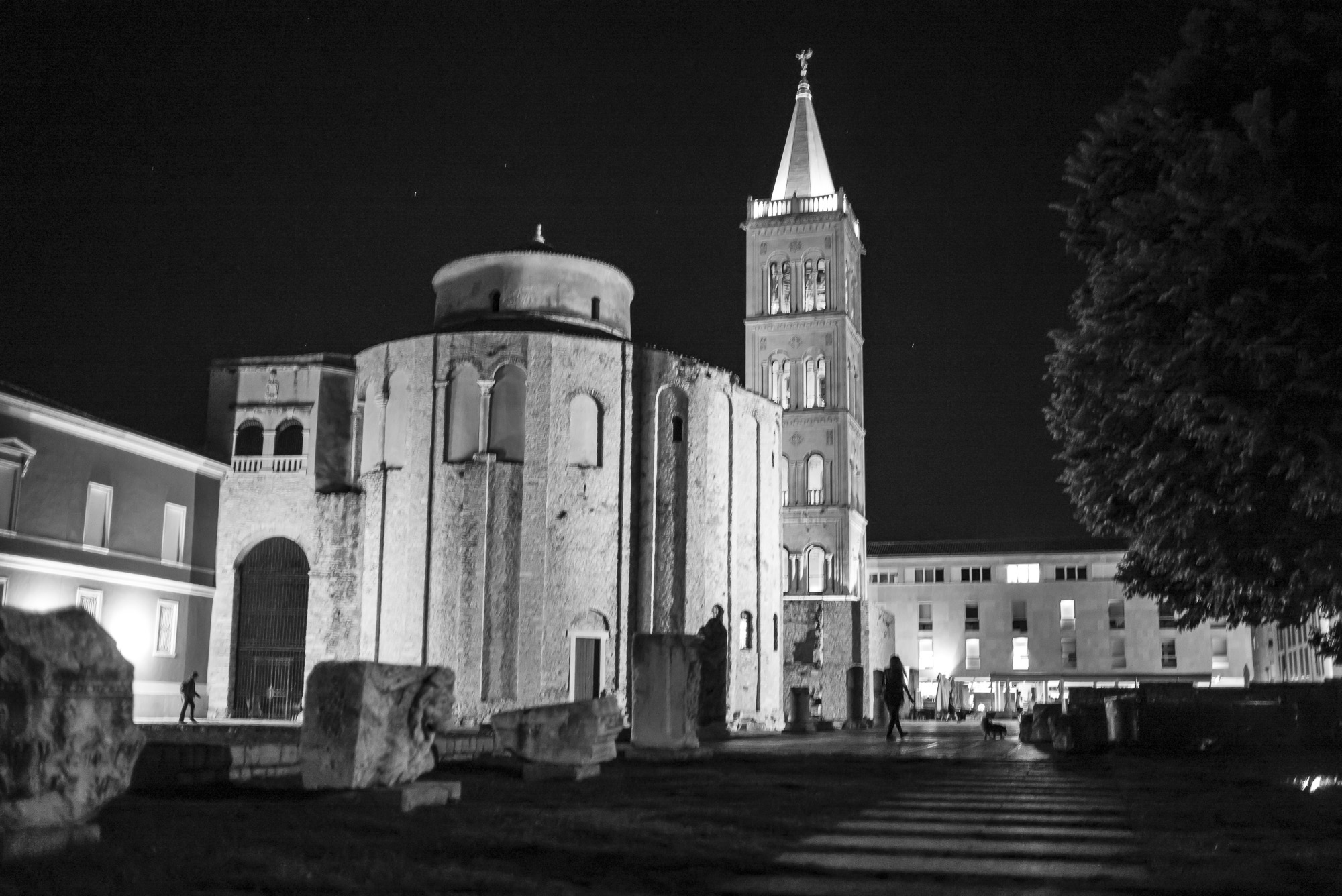 Church of St. Donat at Night