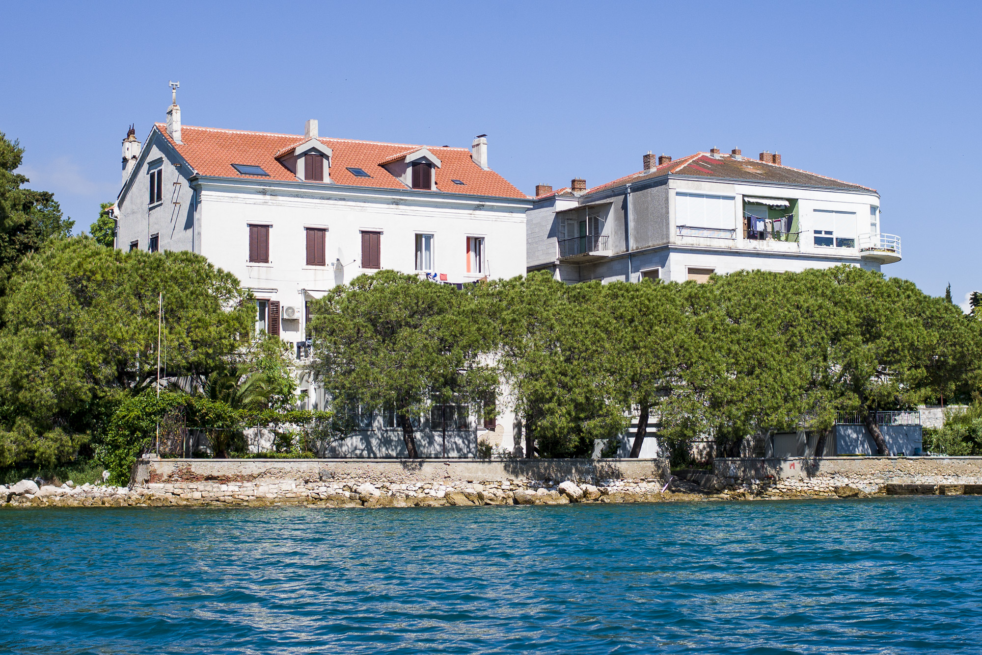 Our Airbnb apartment in Zadar