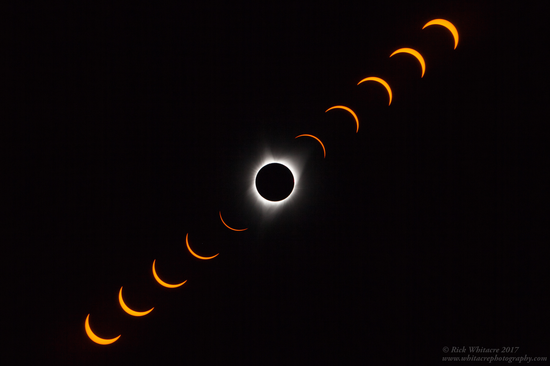 Totality - Photo by Rick Whitacre