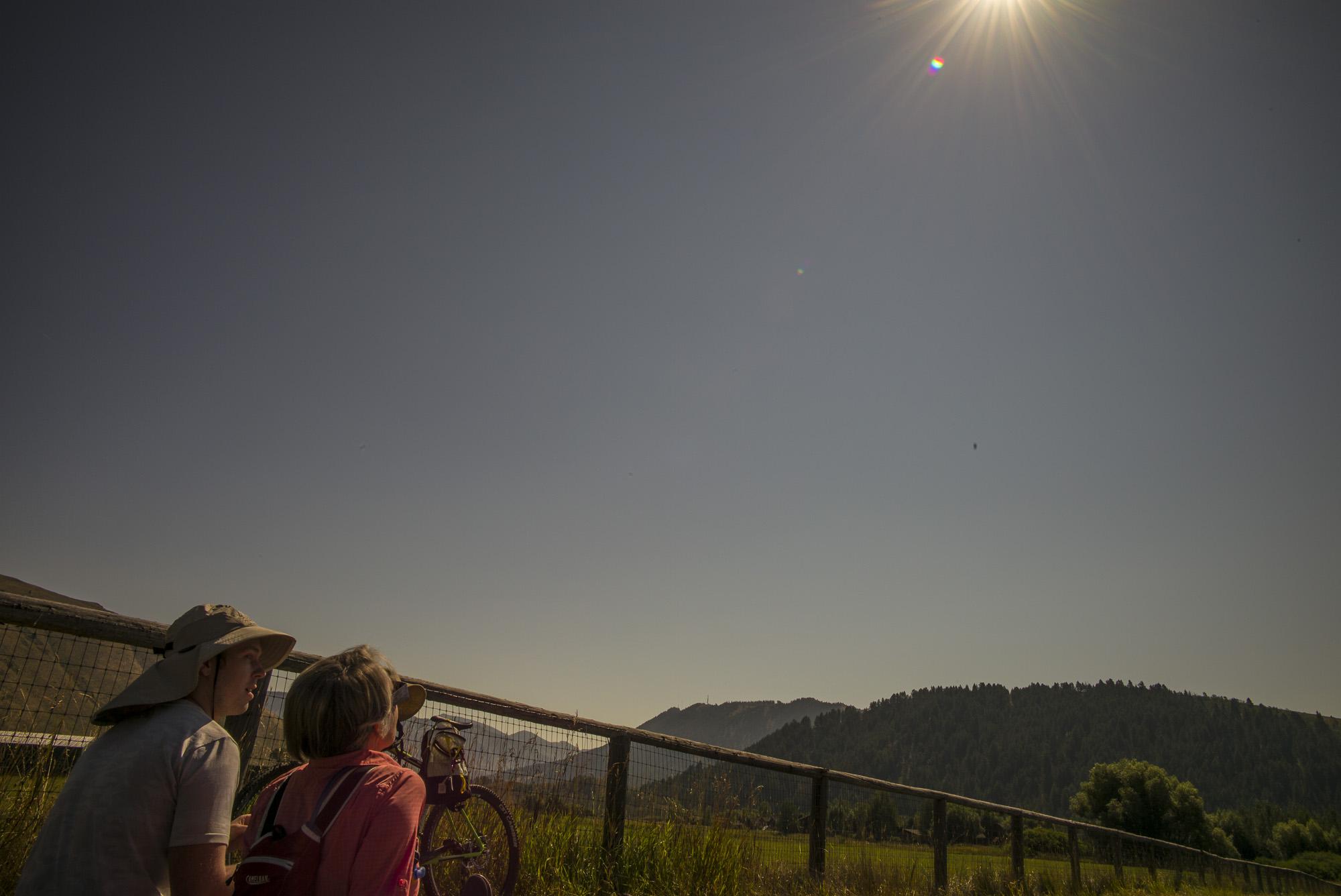 20 seconds before Totality