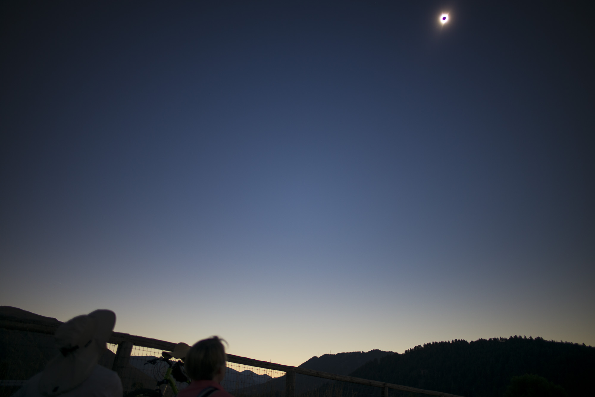Totality - 20 seconds later