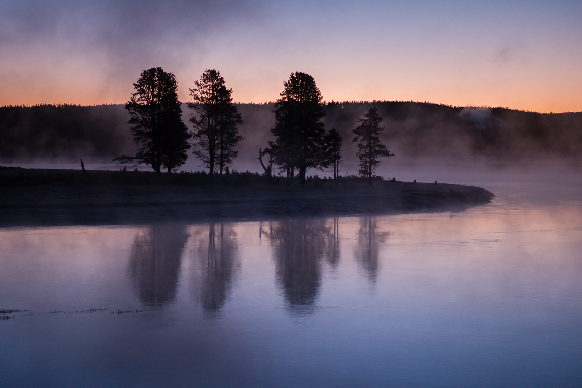 Morning on the Yellowstone River