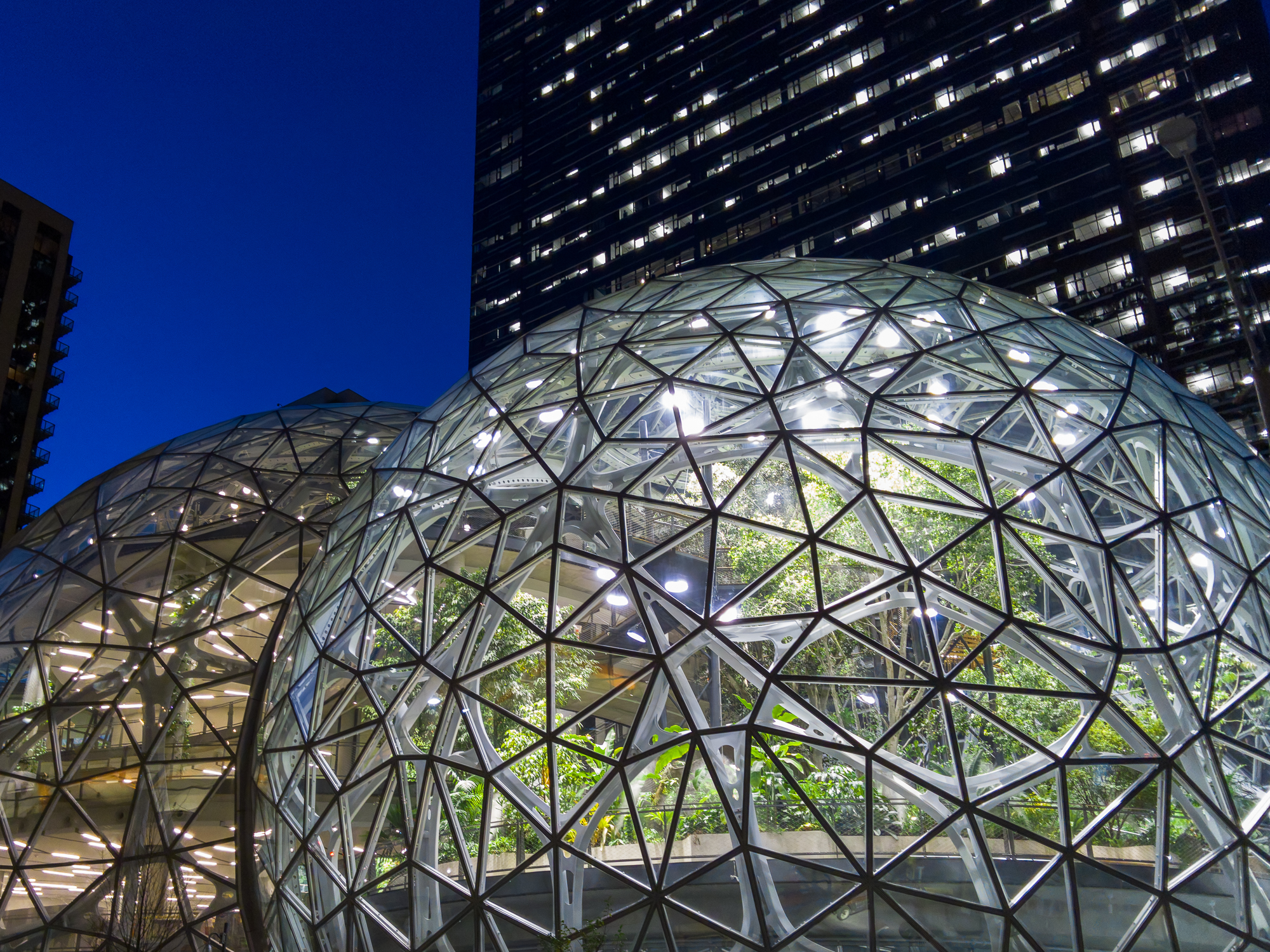 Spheres in Seattle with the L16