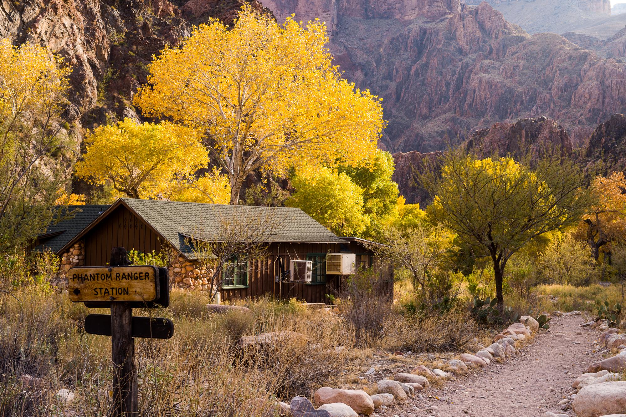 Phantom Ranch ranger station