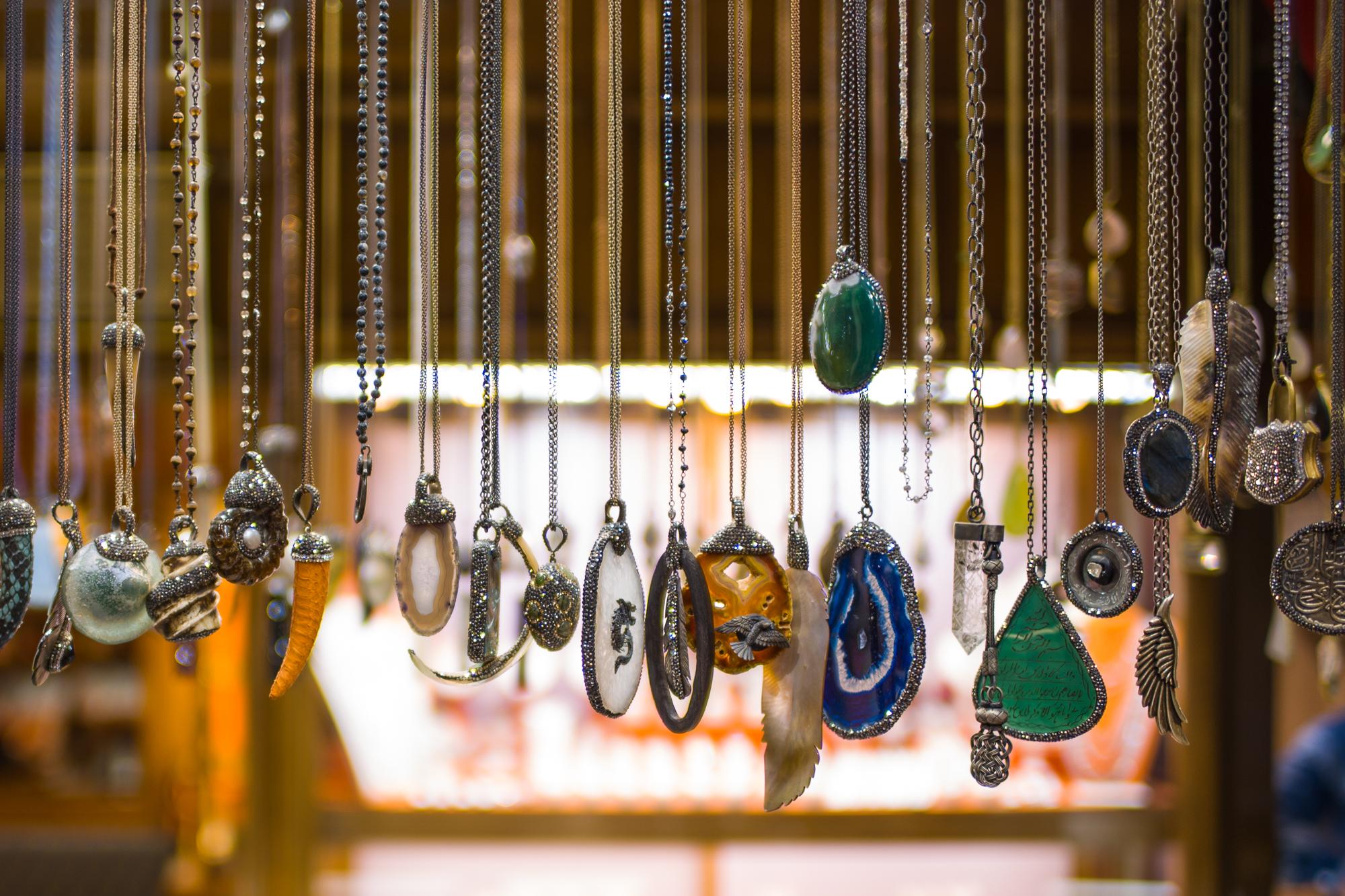 Jewelry in the Grand Bazaar