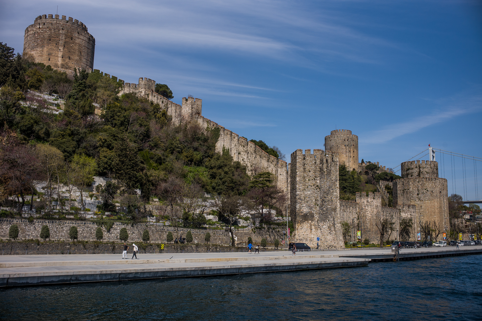 The Rumelihisari Fortress built by Mehmet the Conqueror