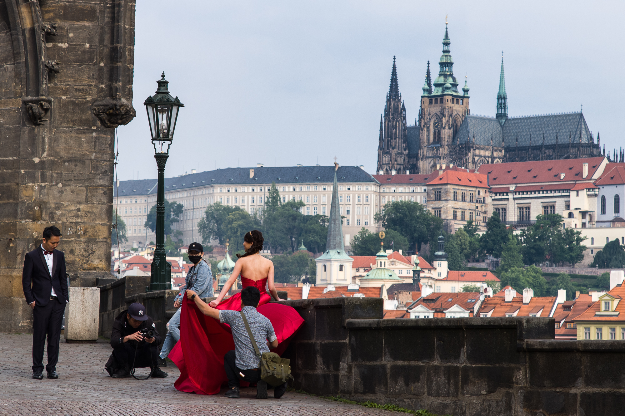 Wedding Photography on the Charles Bridge