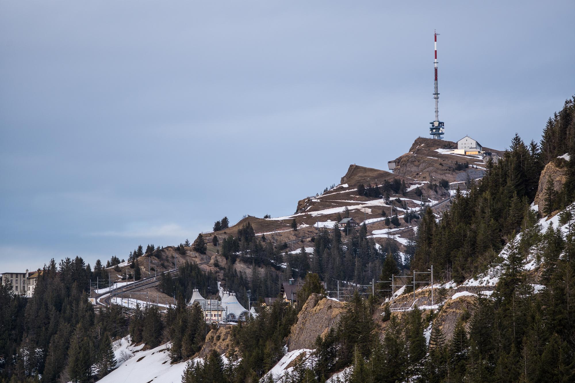 The summit of Rigi Kulm