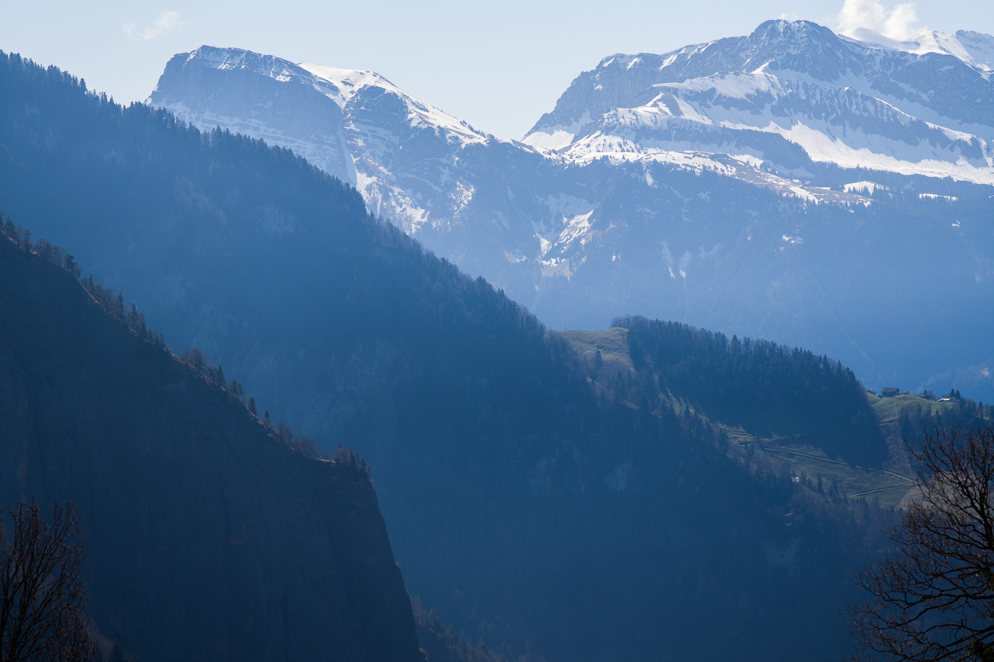 View from the Rigi Trail
