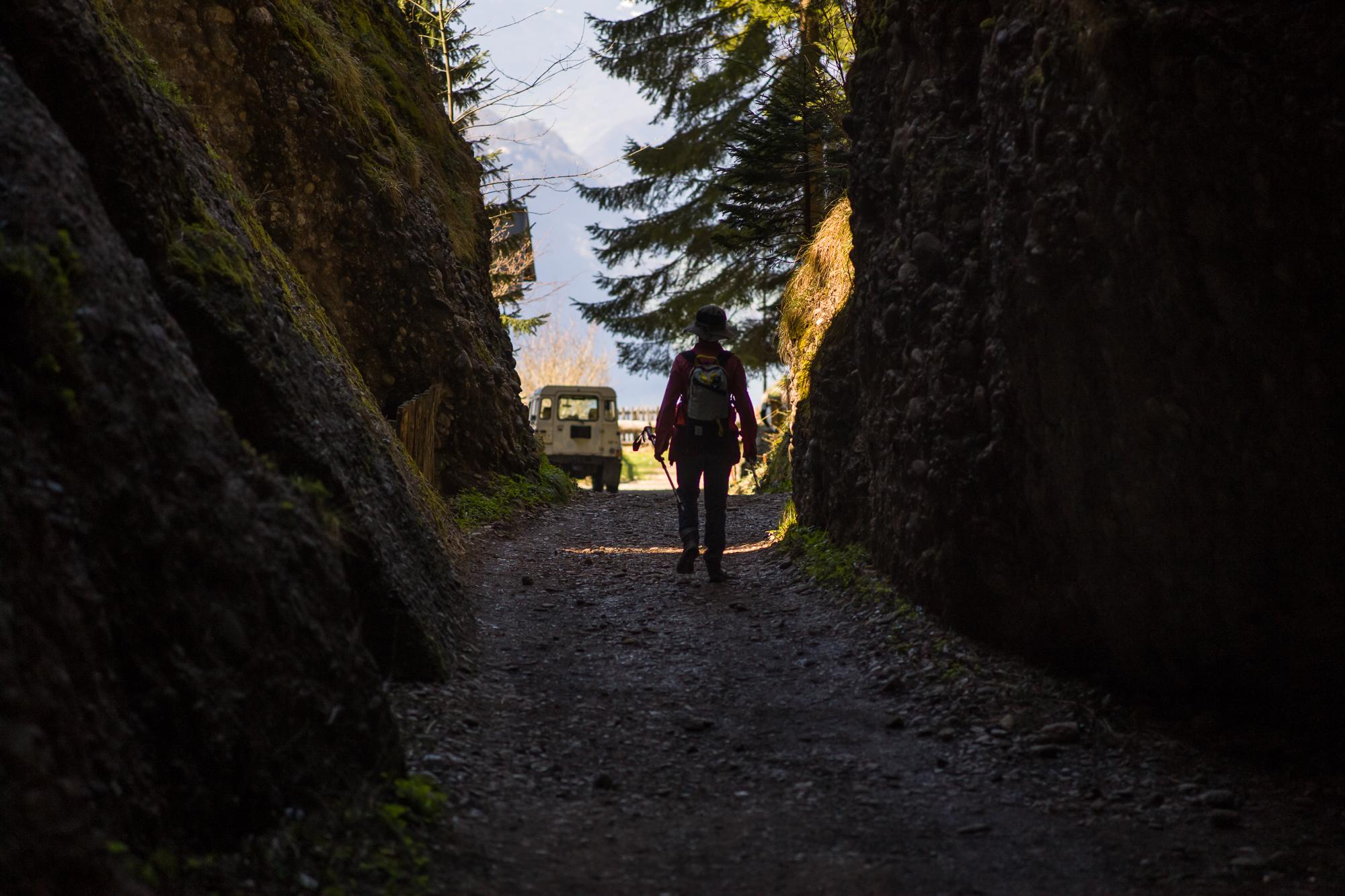 Buddhist Retreat Center on the Rigi-Weggis hike