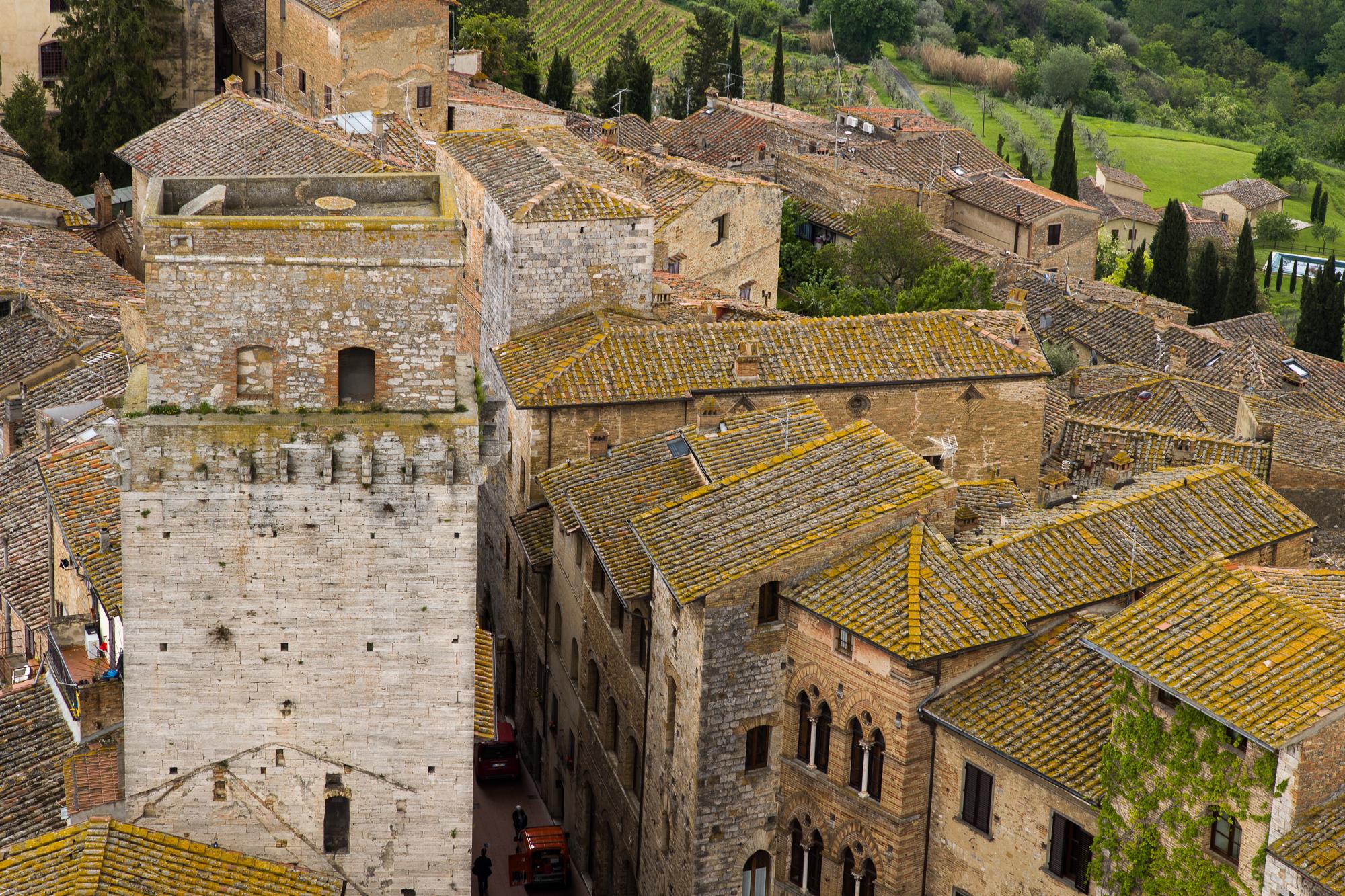 San Gimignano Roof Tops