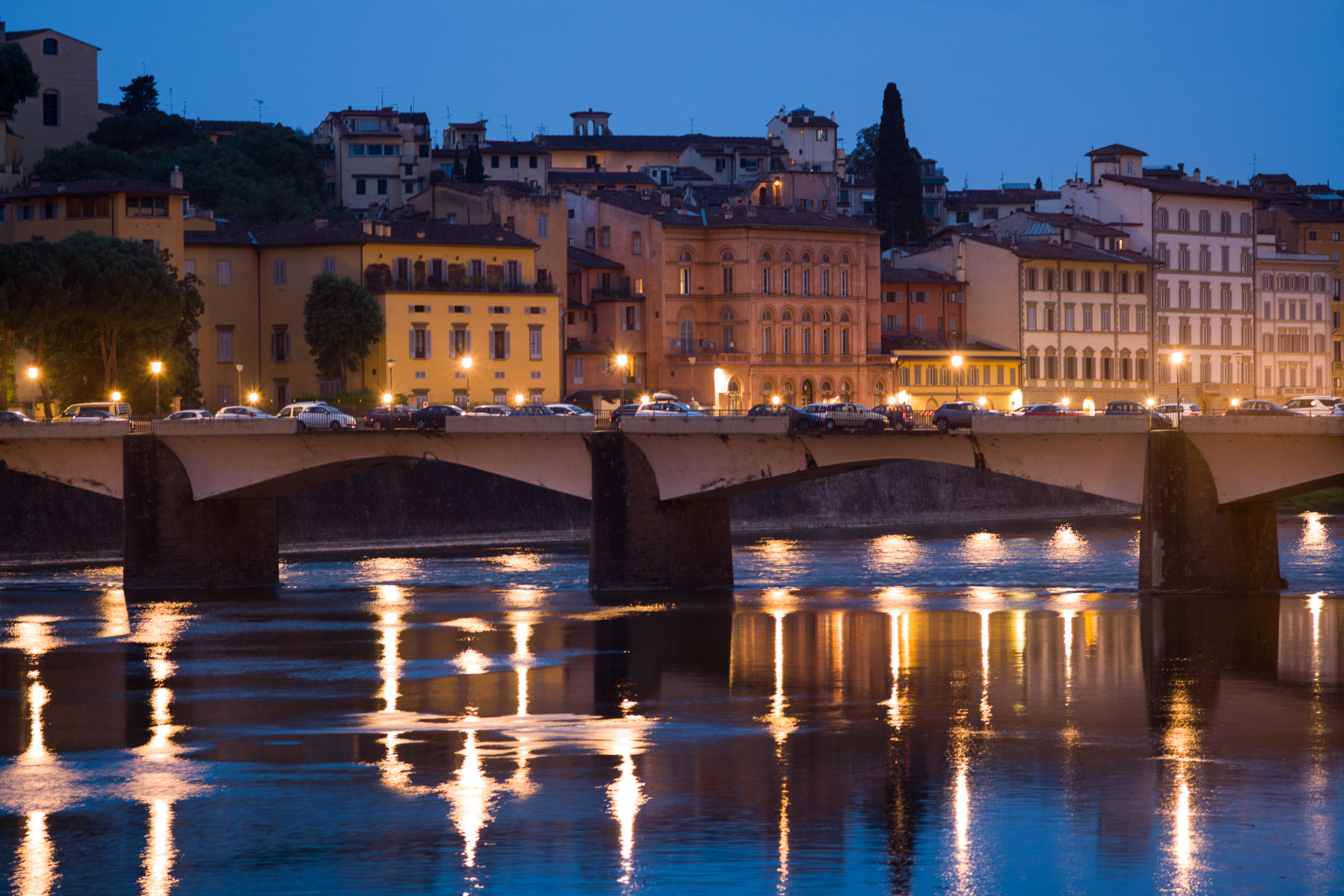 Florence in the early morning
