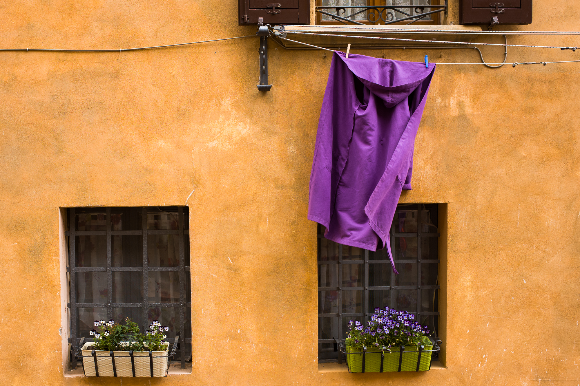 A Priest's Robe drying in the sun