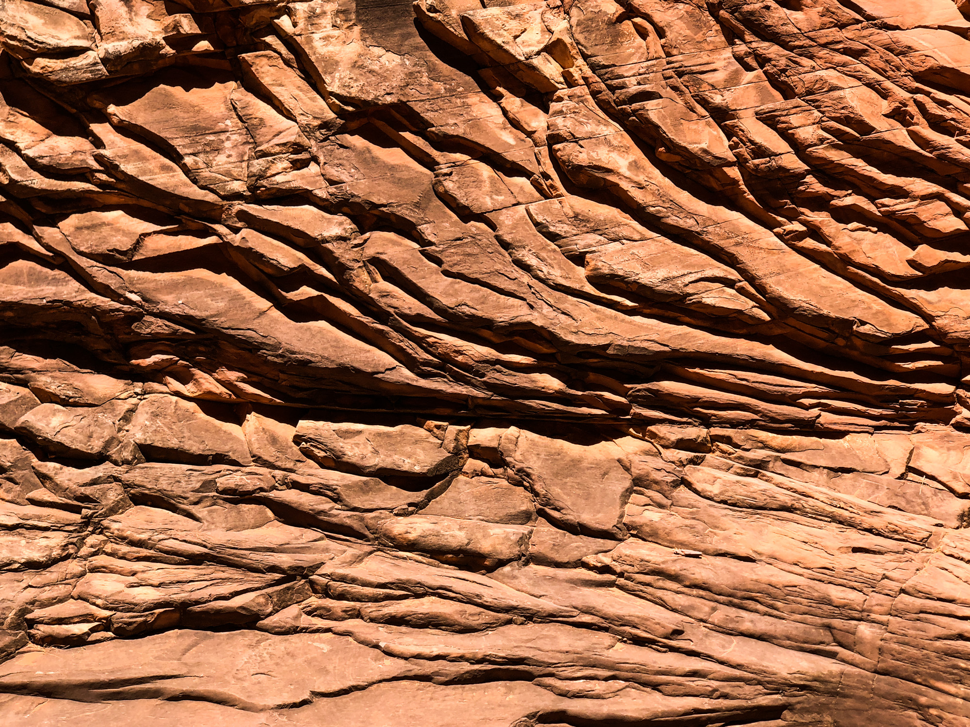 Rock Wall in the Grand Canyon