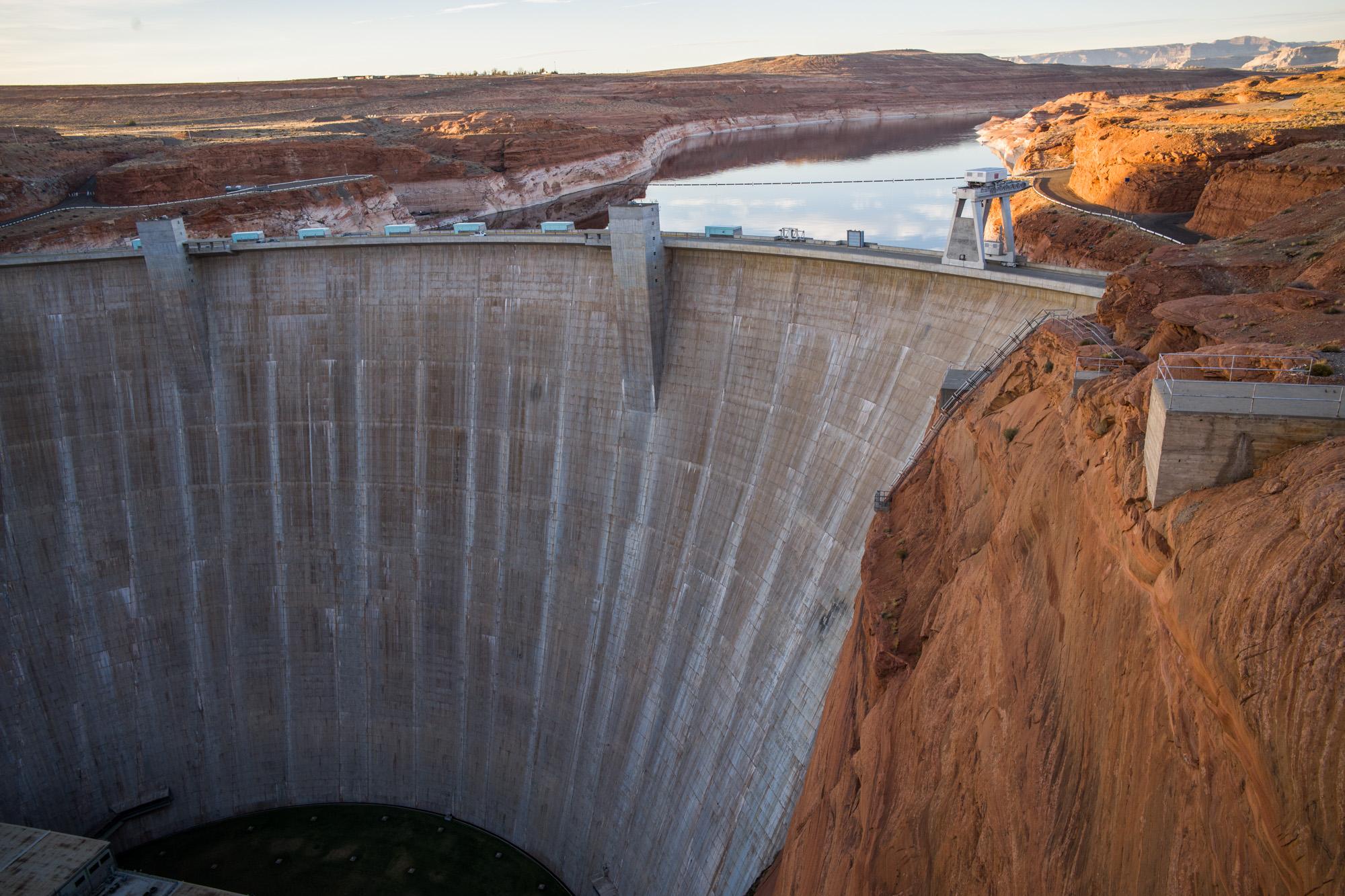 Glen Canyon Dam - Converting the Colorado River to a fragile system