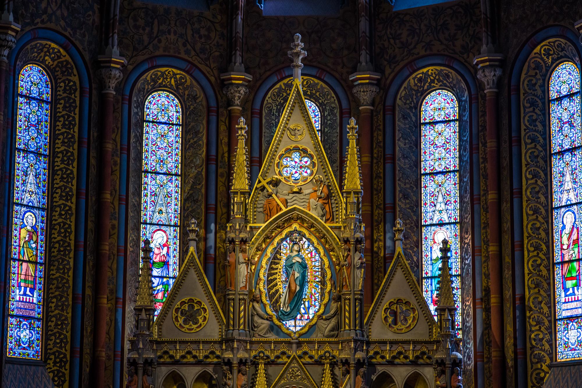 The Altar of Matthias Church