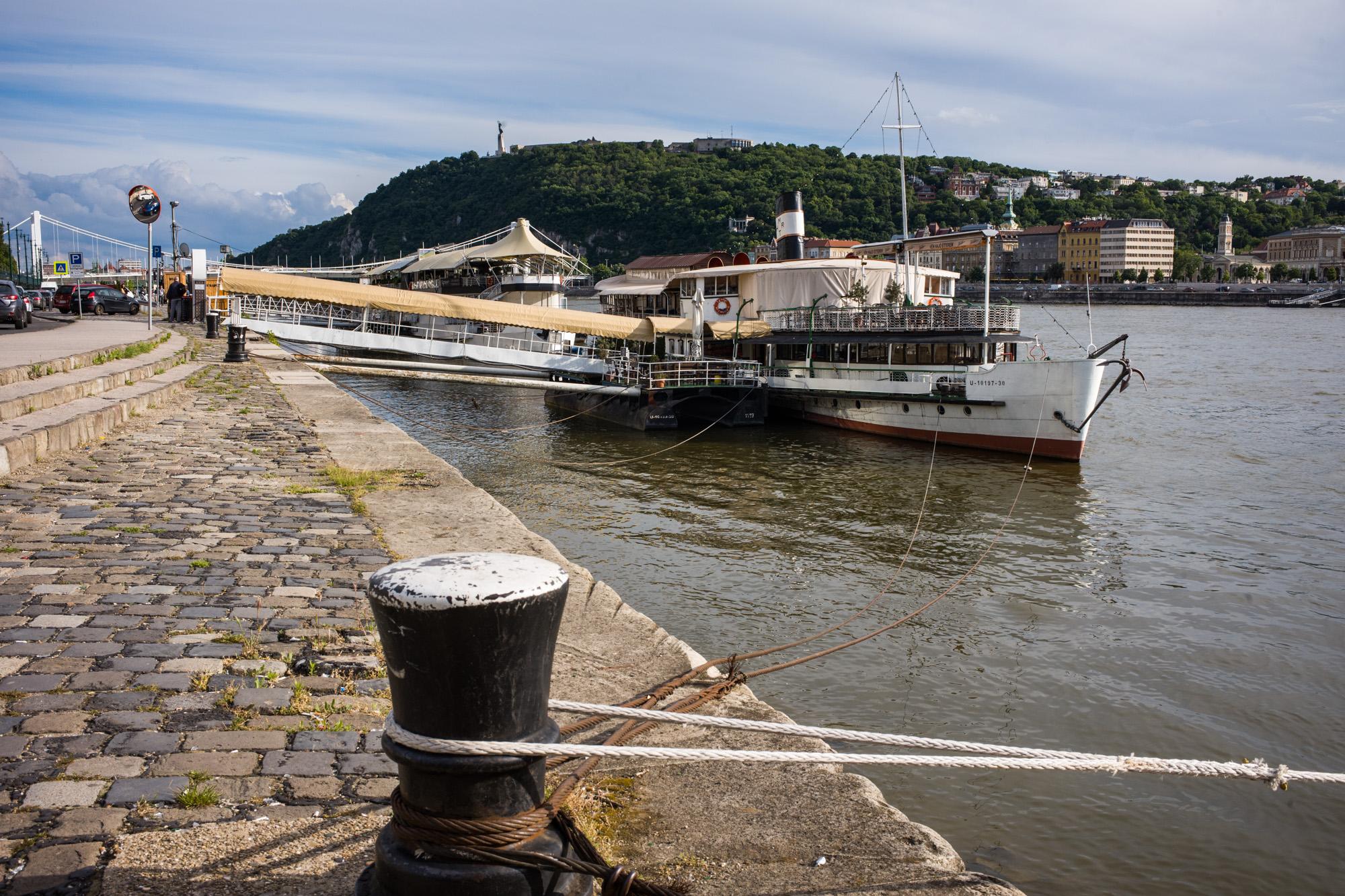 The Danube in Budapest