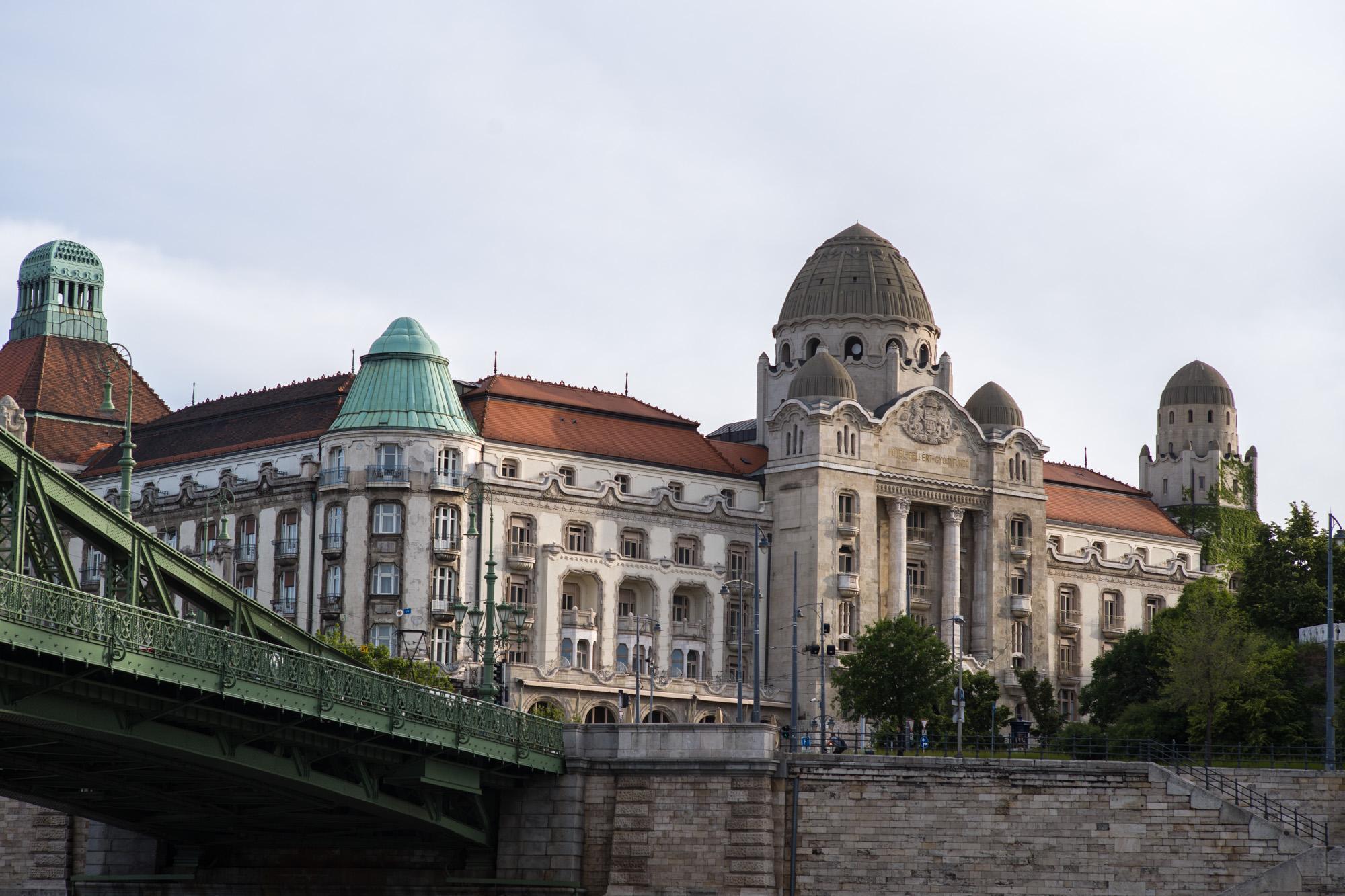 The Gellért Hotel and Baths