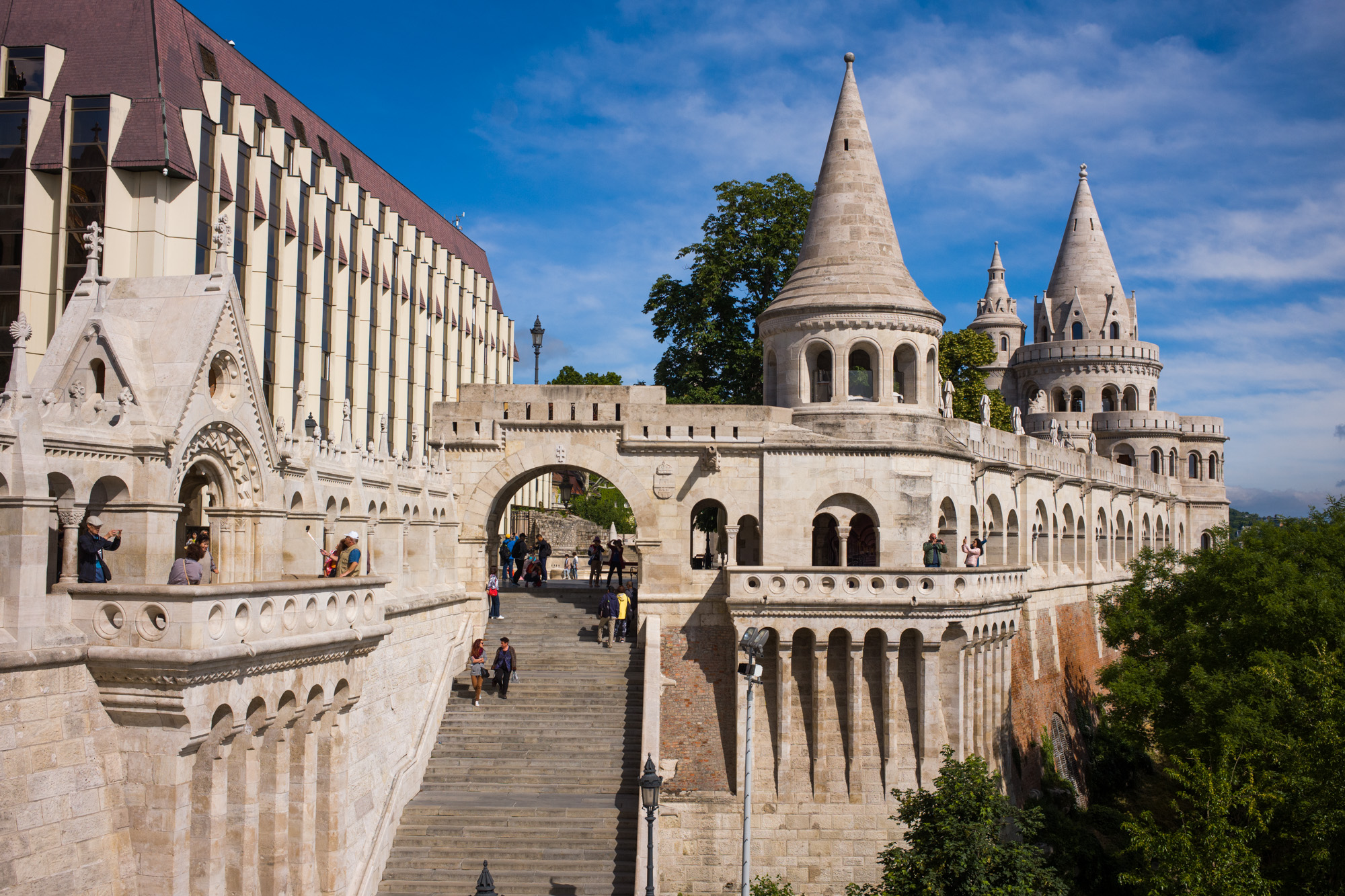 Castle Hill over Budapest