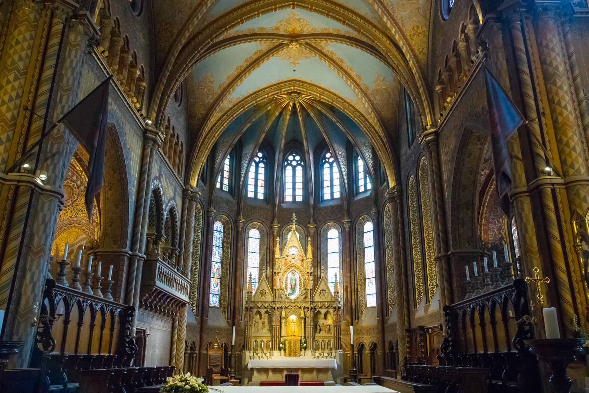 Matthias Church Interior