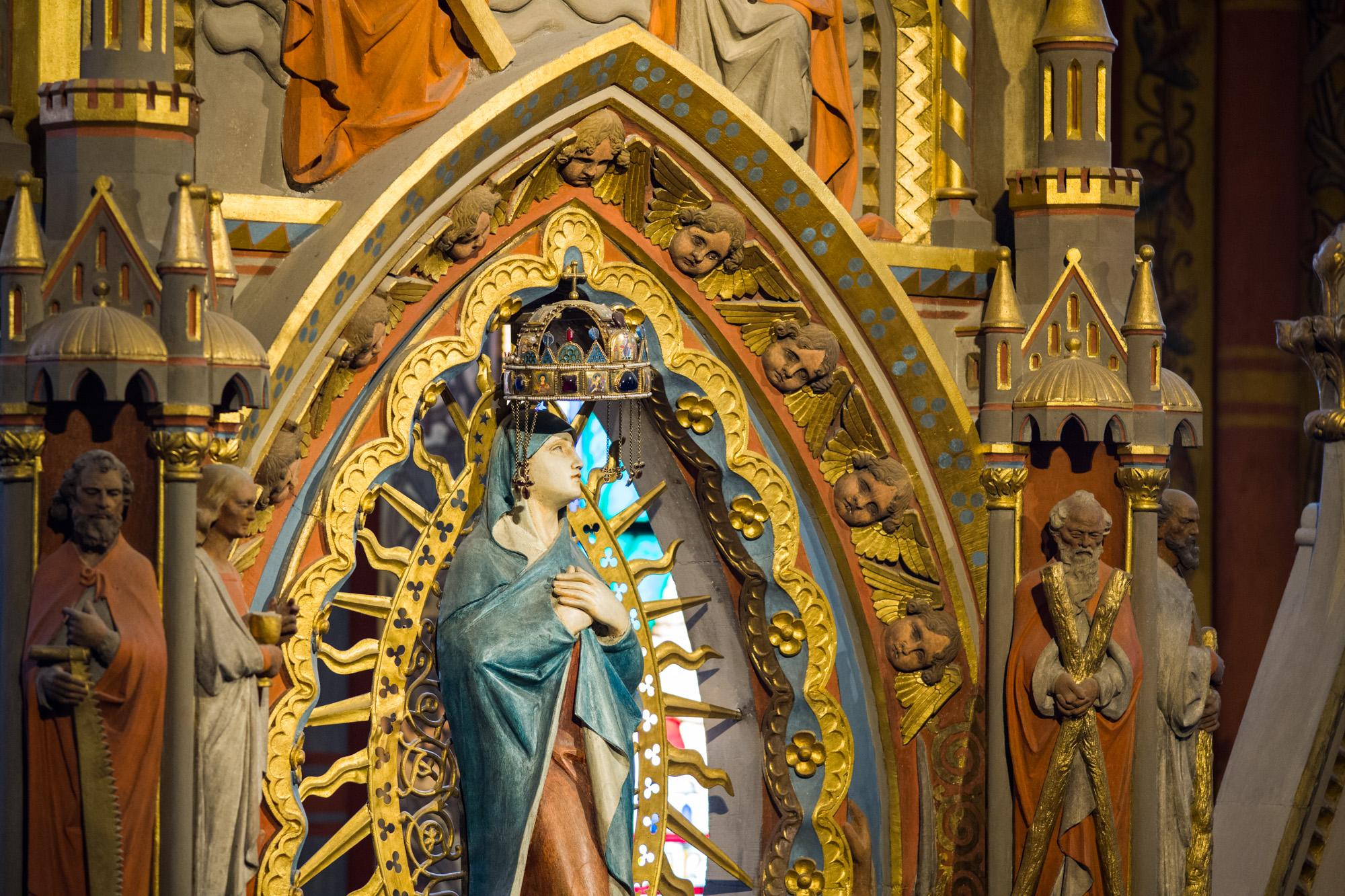 Crown of St. Stephen in Matthias Church