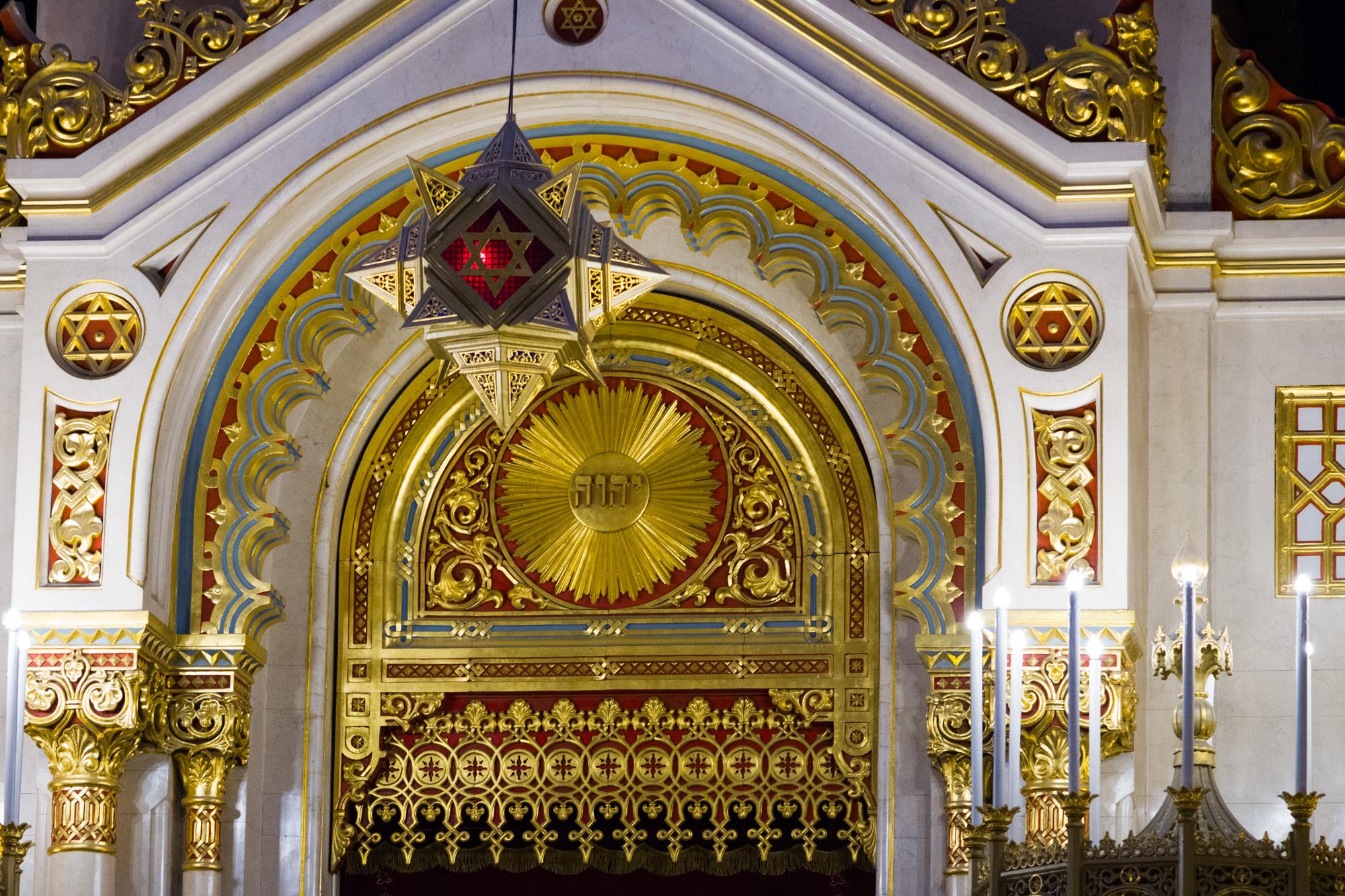 Dohány Street Synagogue Interior