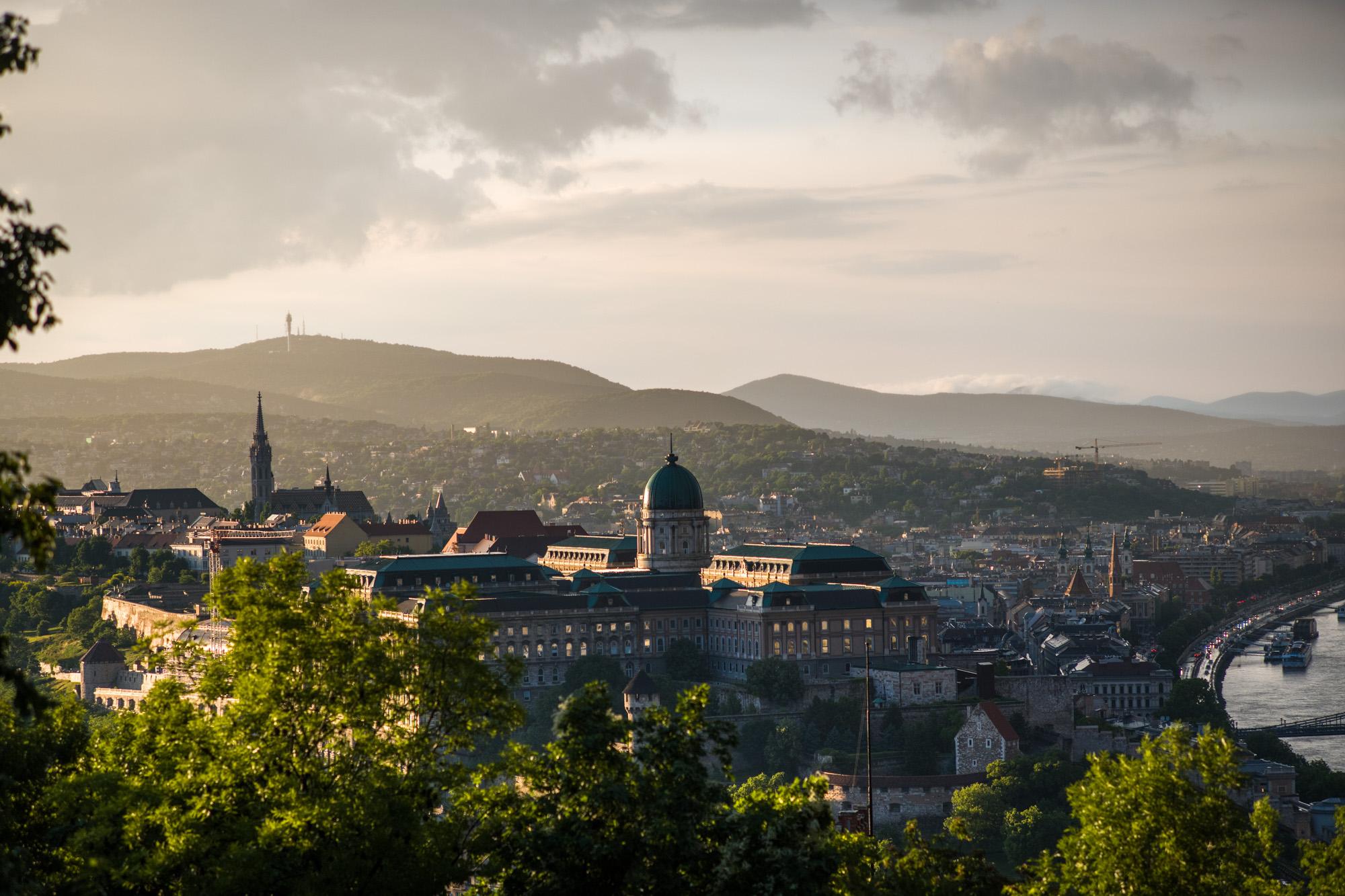 View of Castle from Gellért Hill