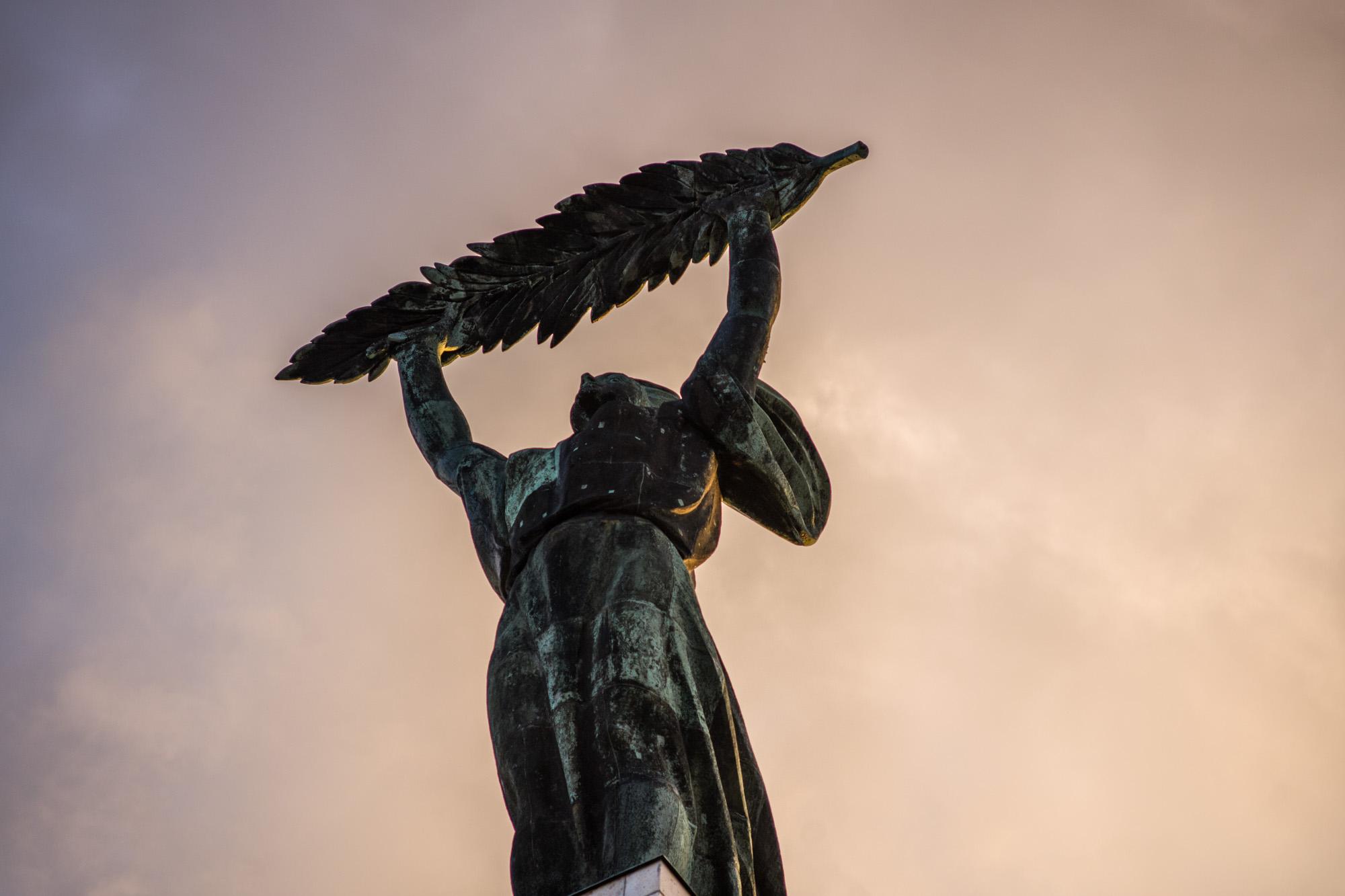 The Liberty Statue on Gellért Hill