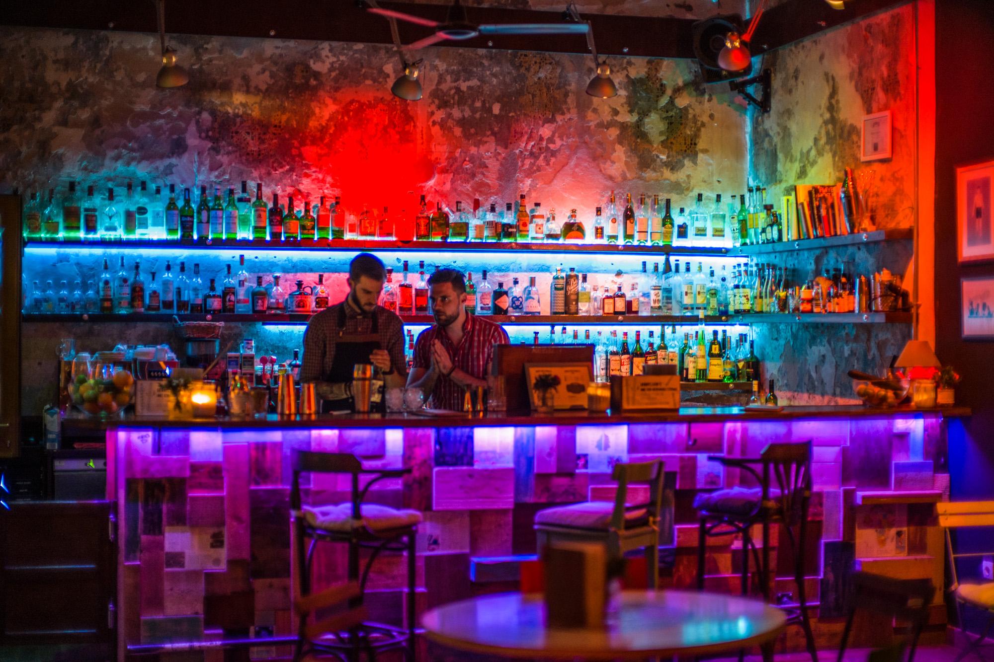 Ruin Bar at Brody Studio in Budapest