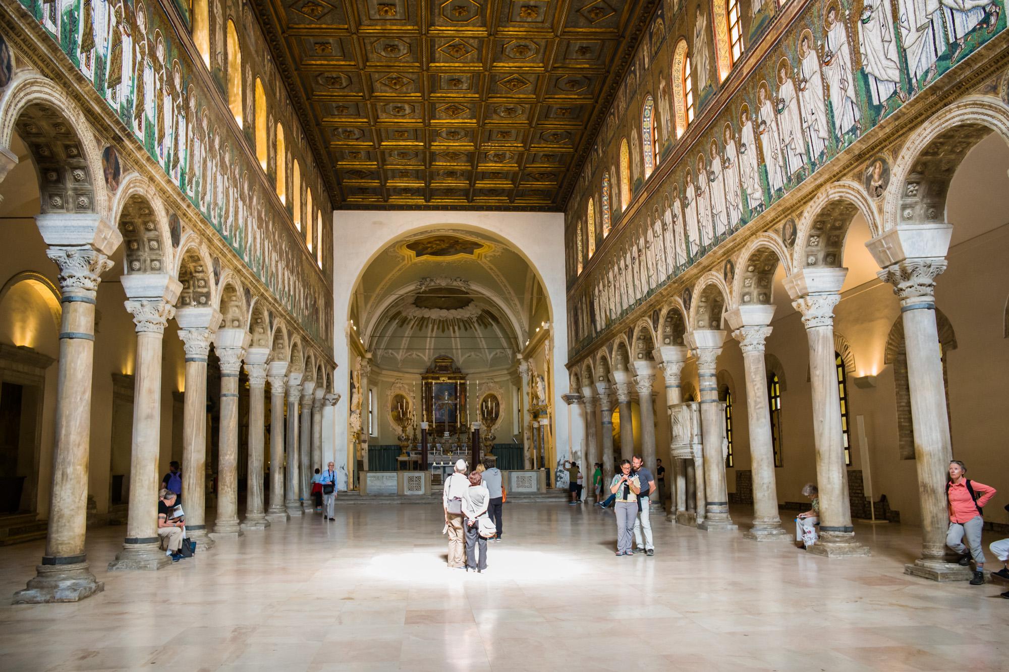 The Basilica of Saint Apollonare Nuevo