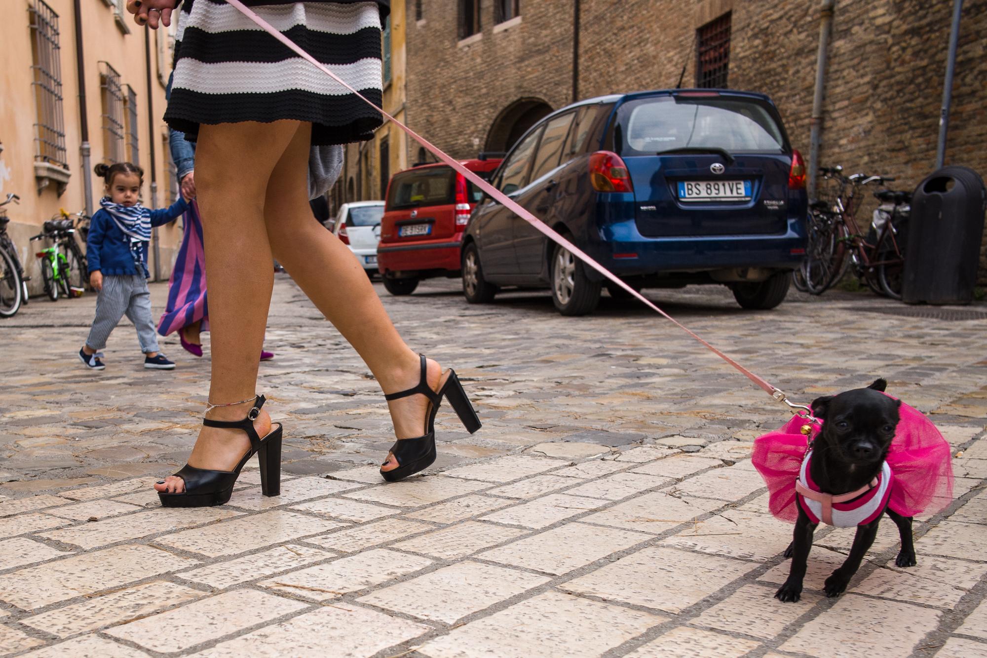 On the streets of Ravenna