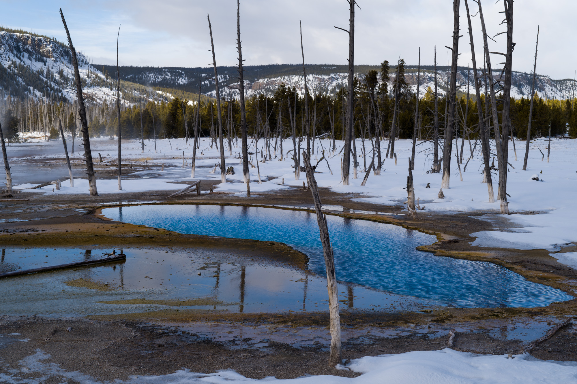 Opalescent Pool in the Black Sand Basin