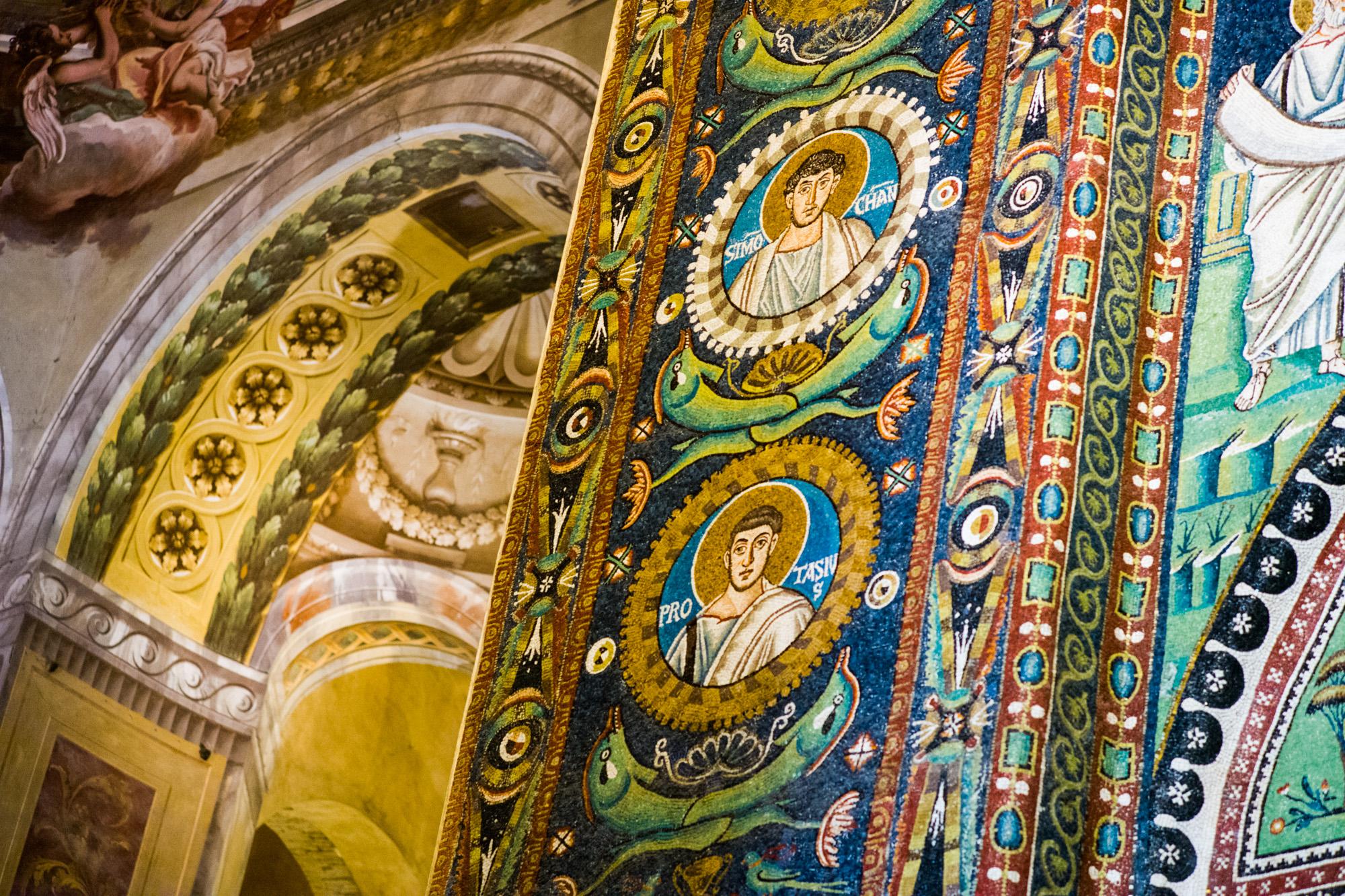 The Mosaics in San Vitale