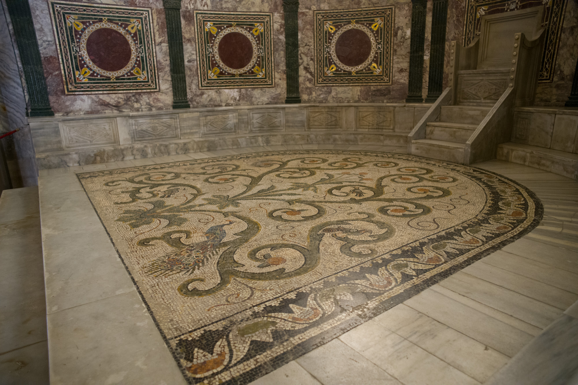 Bishop's Throne in San Vitale
