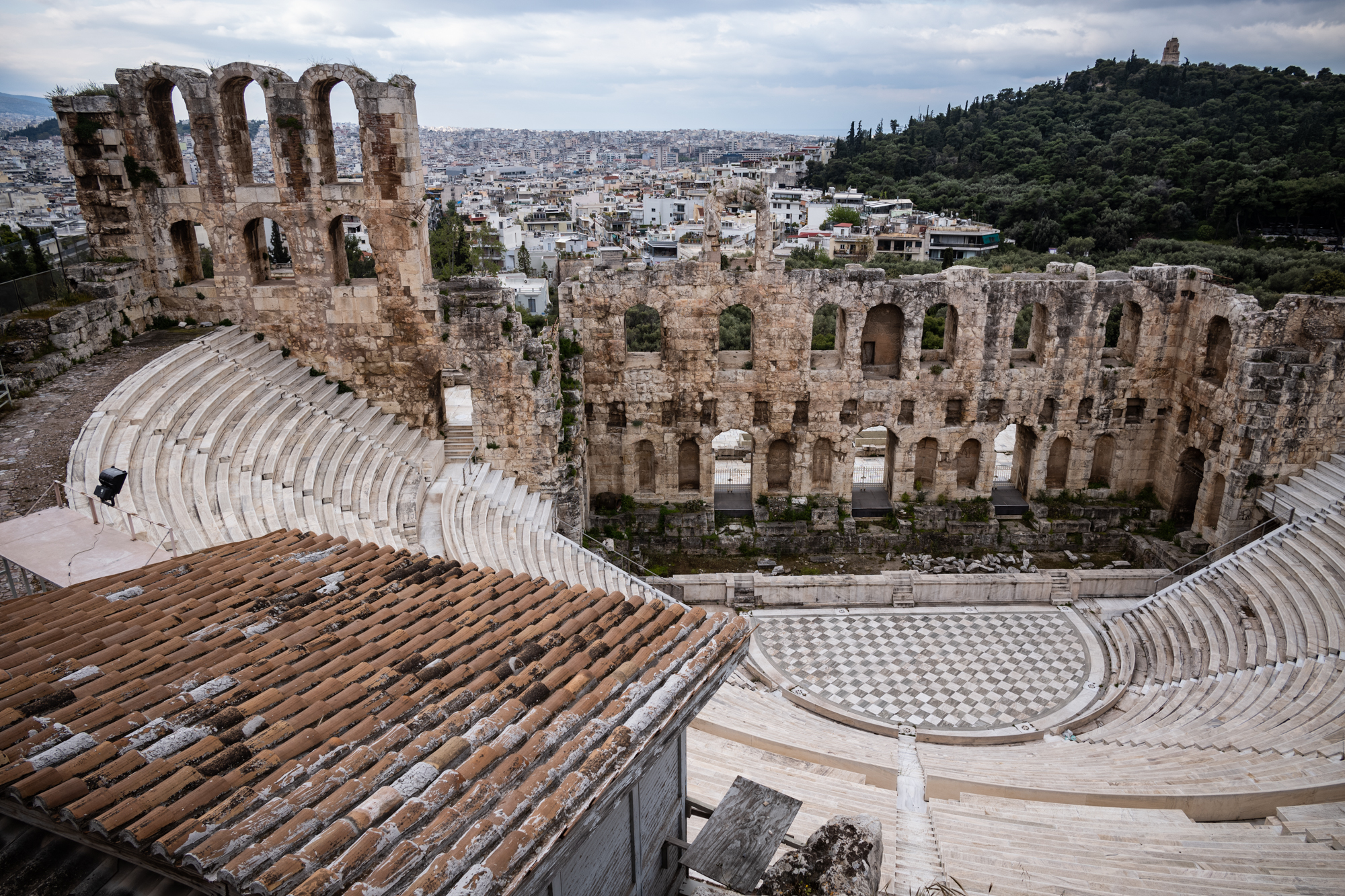 The Ancient Theater on the Acropolis is still in use today