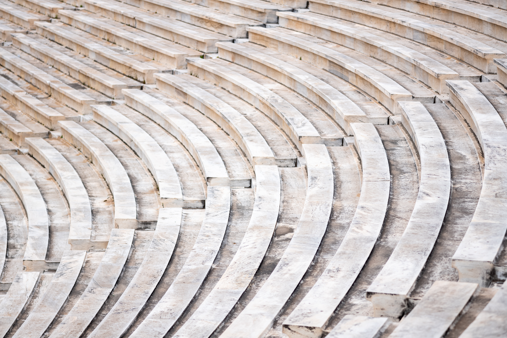 Curved lines in the Stadium