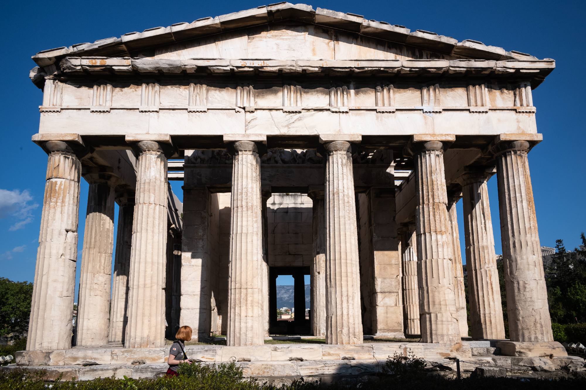 The Temple of Hephaestus in the Agora