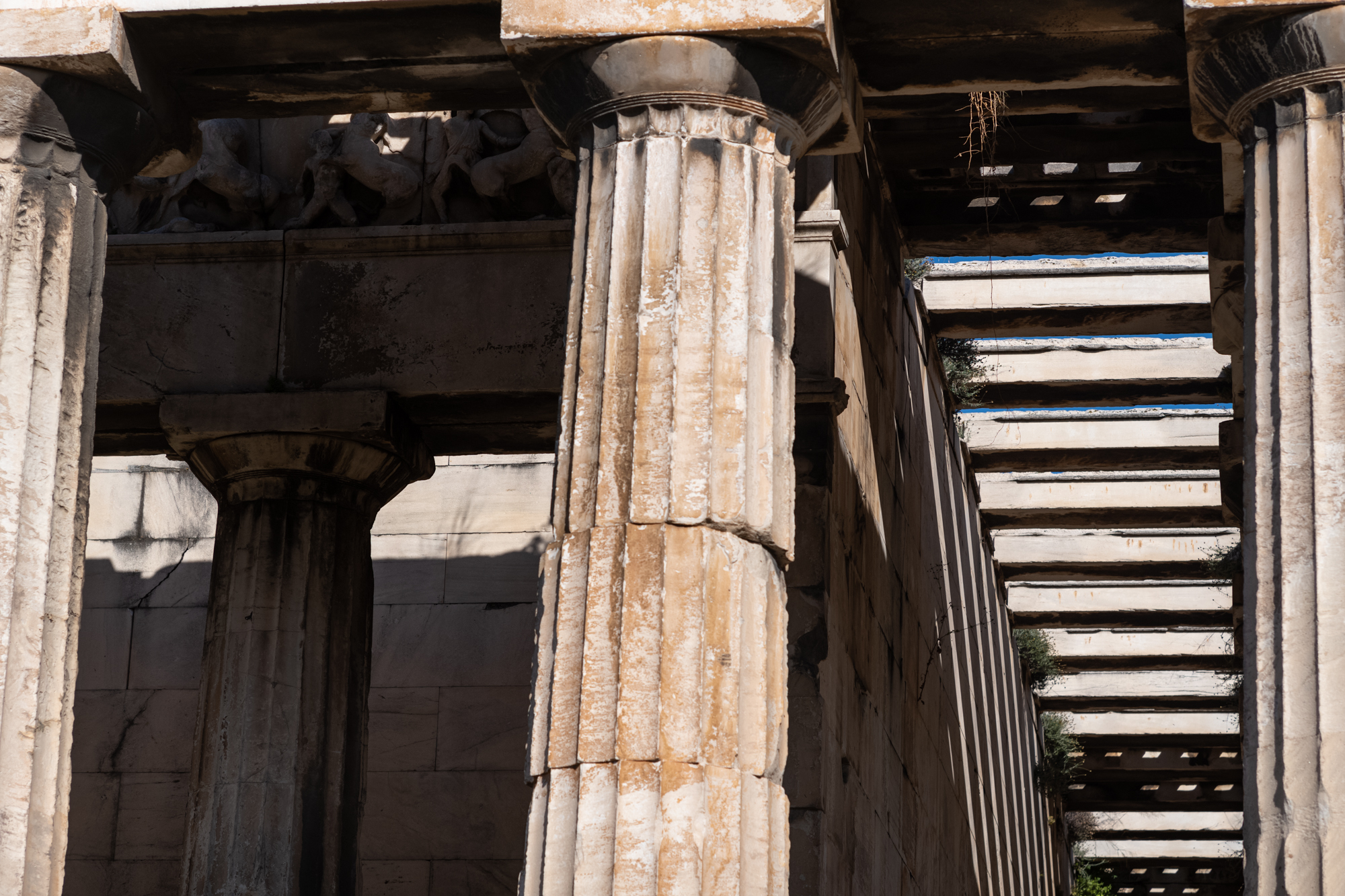 Columns of the Temple of Hephaestus