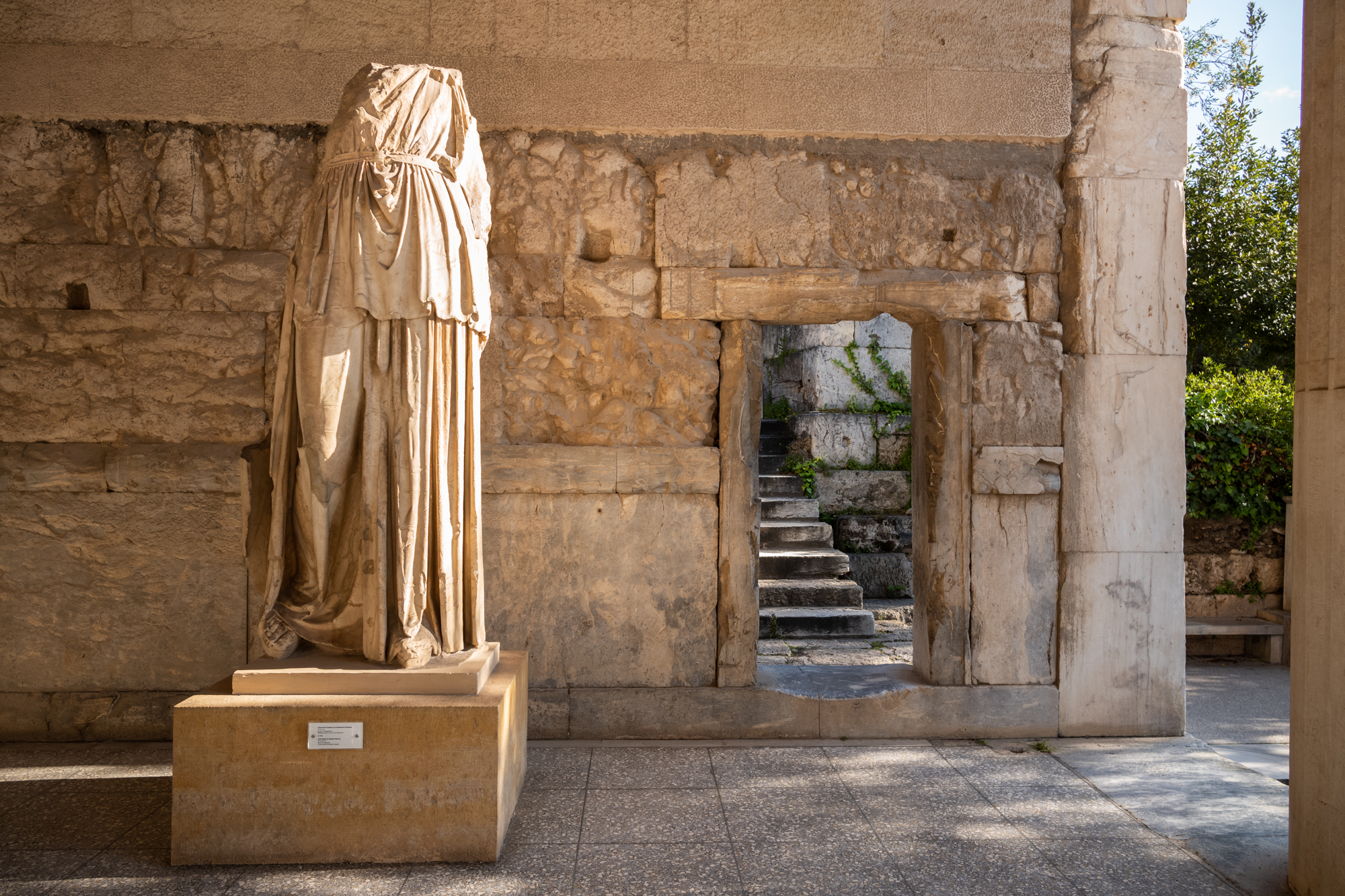 Statue of the Cult of Apollo from 4th century BC