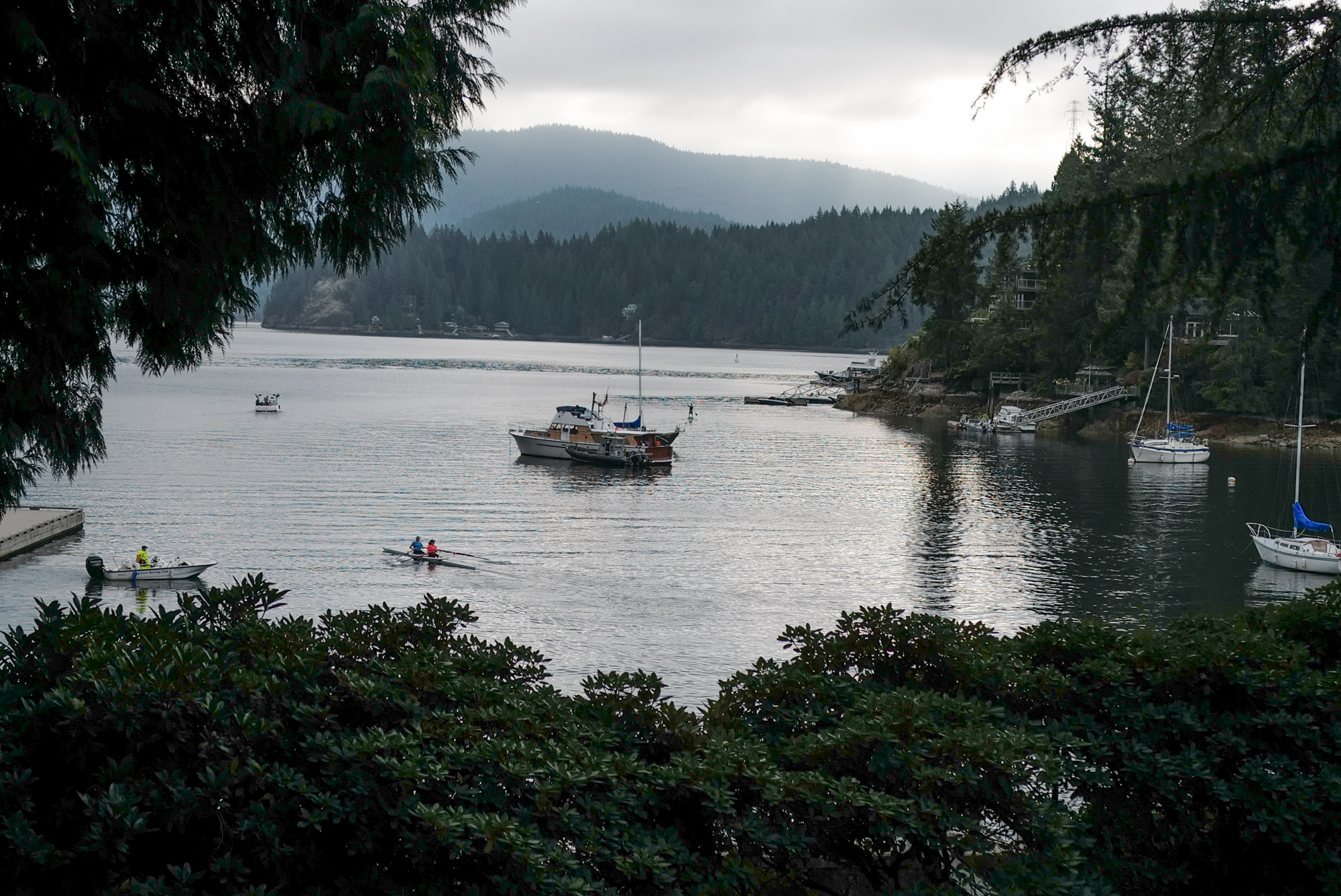 The tranquility of Deep Cove