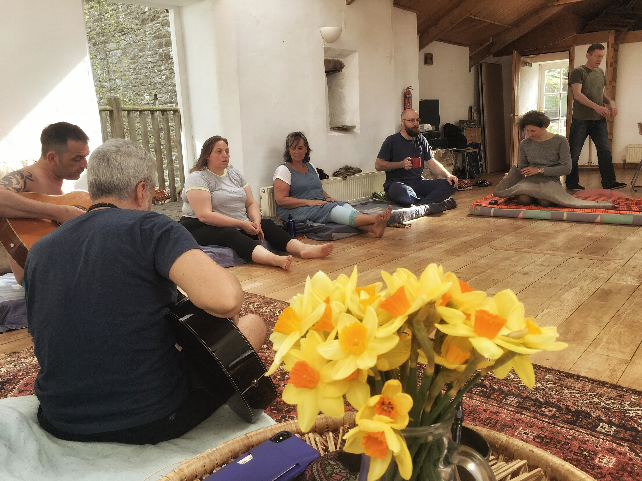 Attendees at the Burnlaw Retreat Center, May 2018