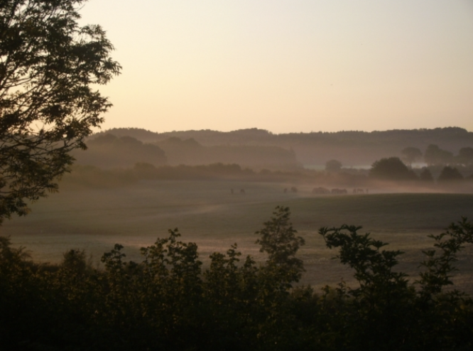 View from the land around the retreat center.