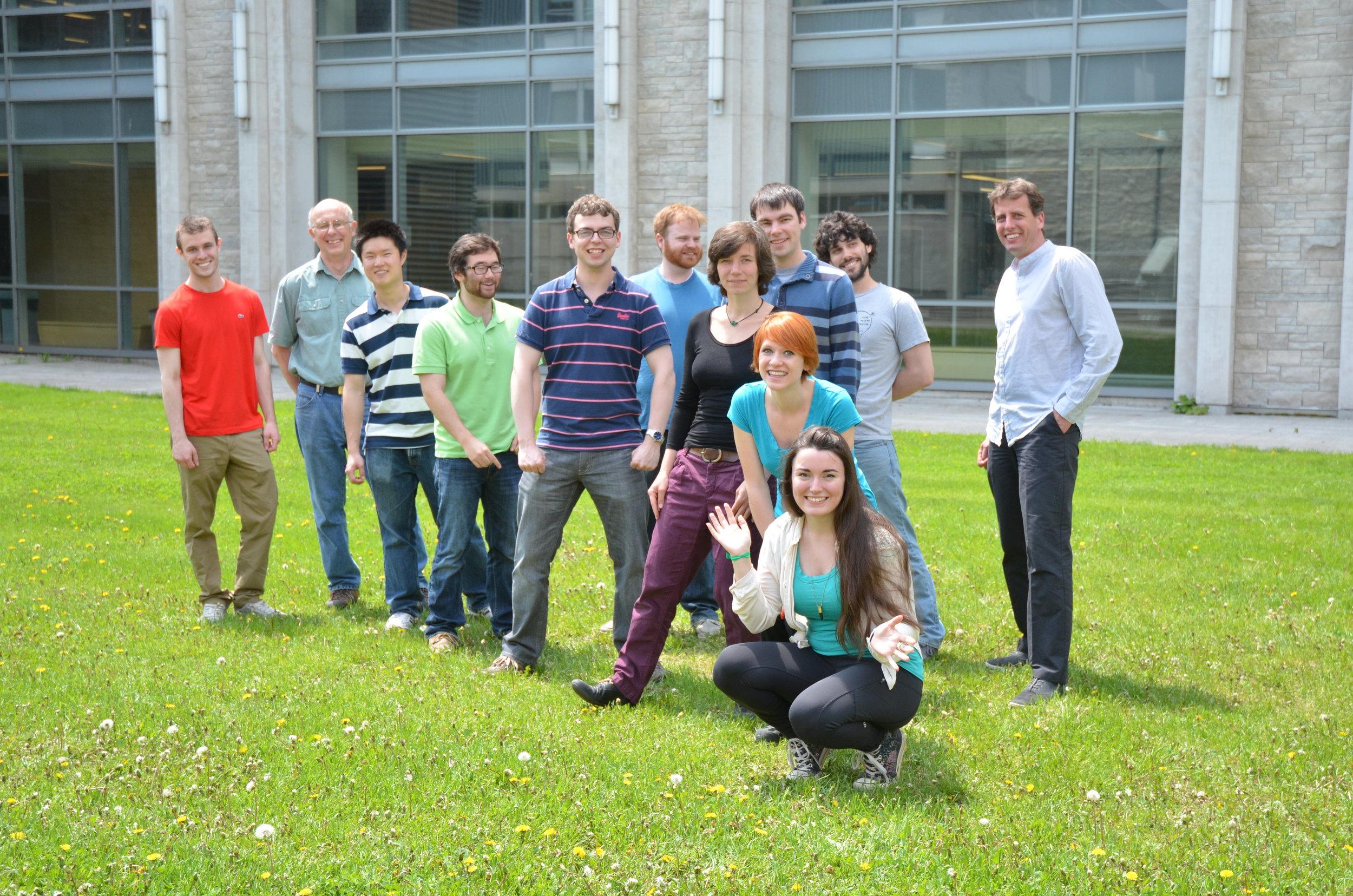 Group Photo, Summer 2014